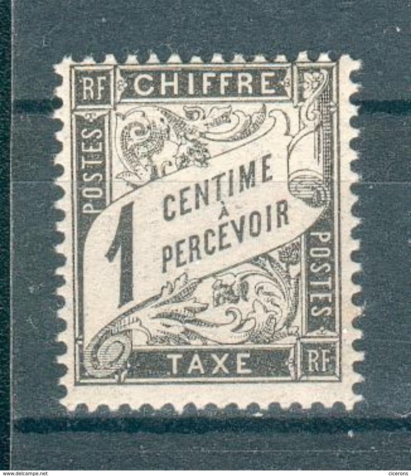 FRANCE ; Taxes ; 1881-92 ; Y&T N° 10 ; Lot :  ; Neuf TTBE - 1859-1955 Neufs