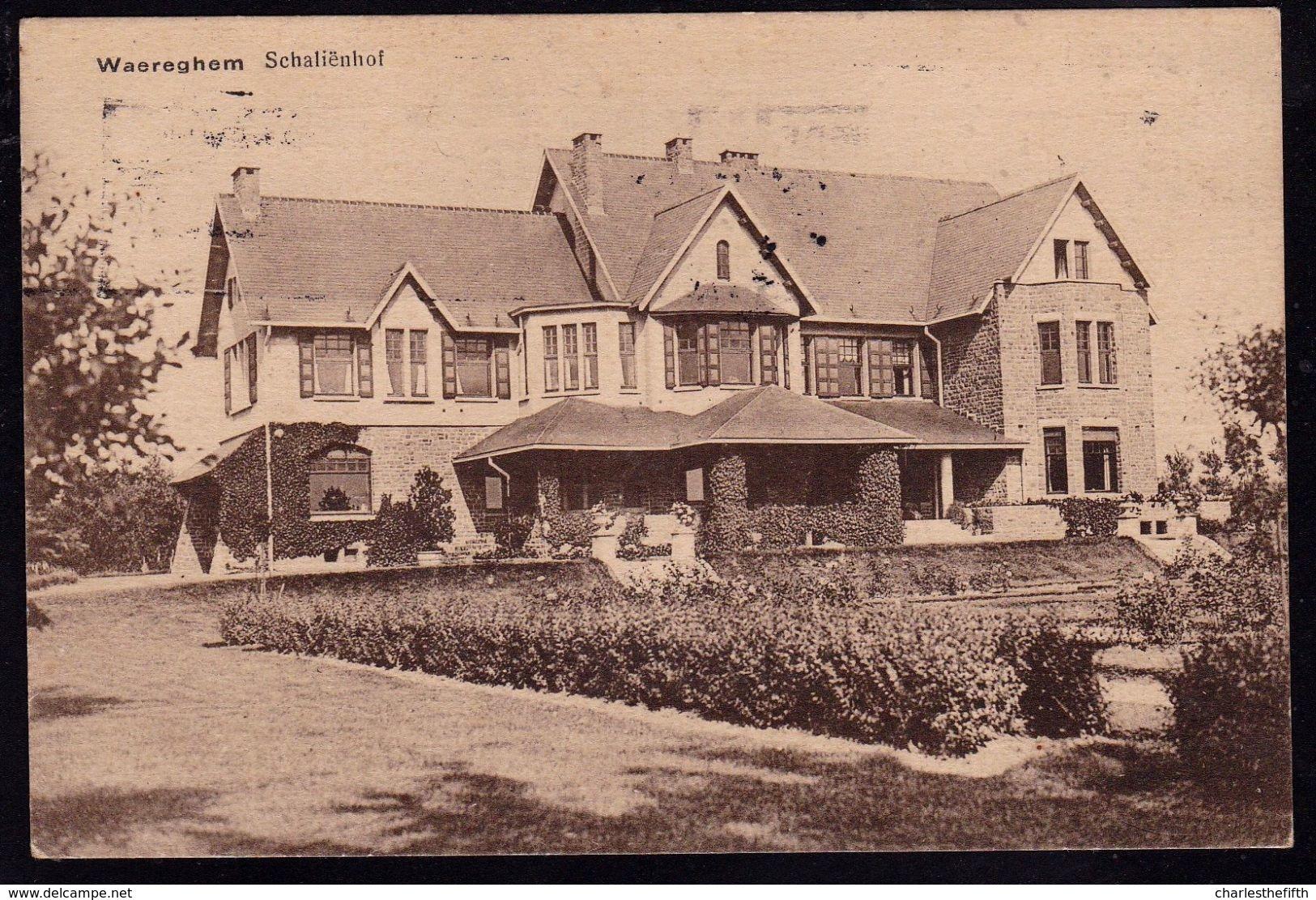 WAEREGHEM - WAREGEM -- Schalienhof - Zeldzame éditie Vermeersch ! - Waregem
