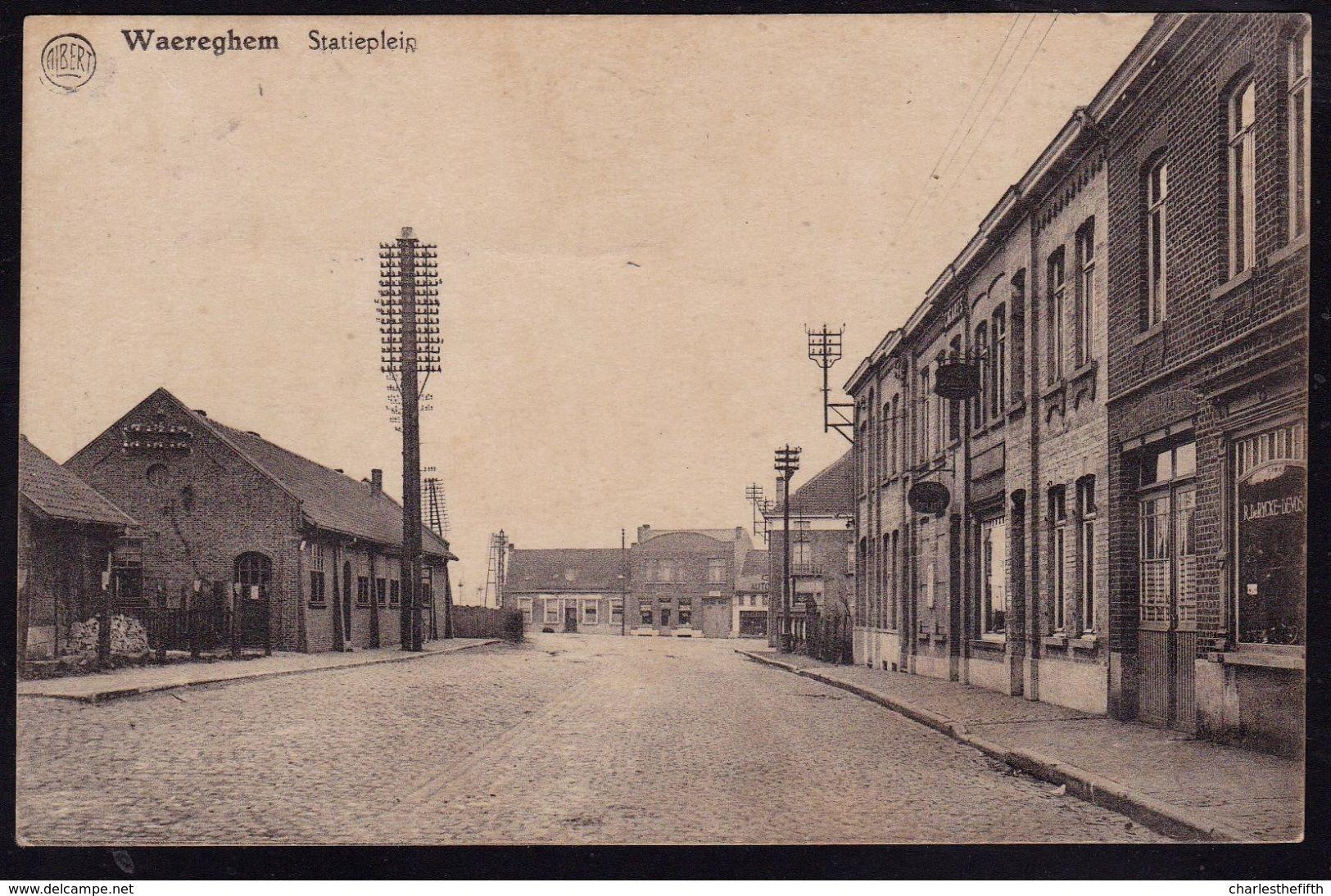 WAEREGHEM - WAREGEM -- STATIEPLEIN -  ! - Waregem