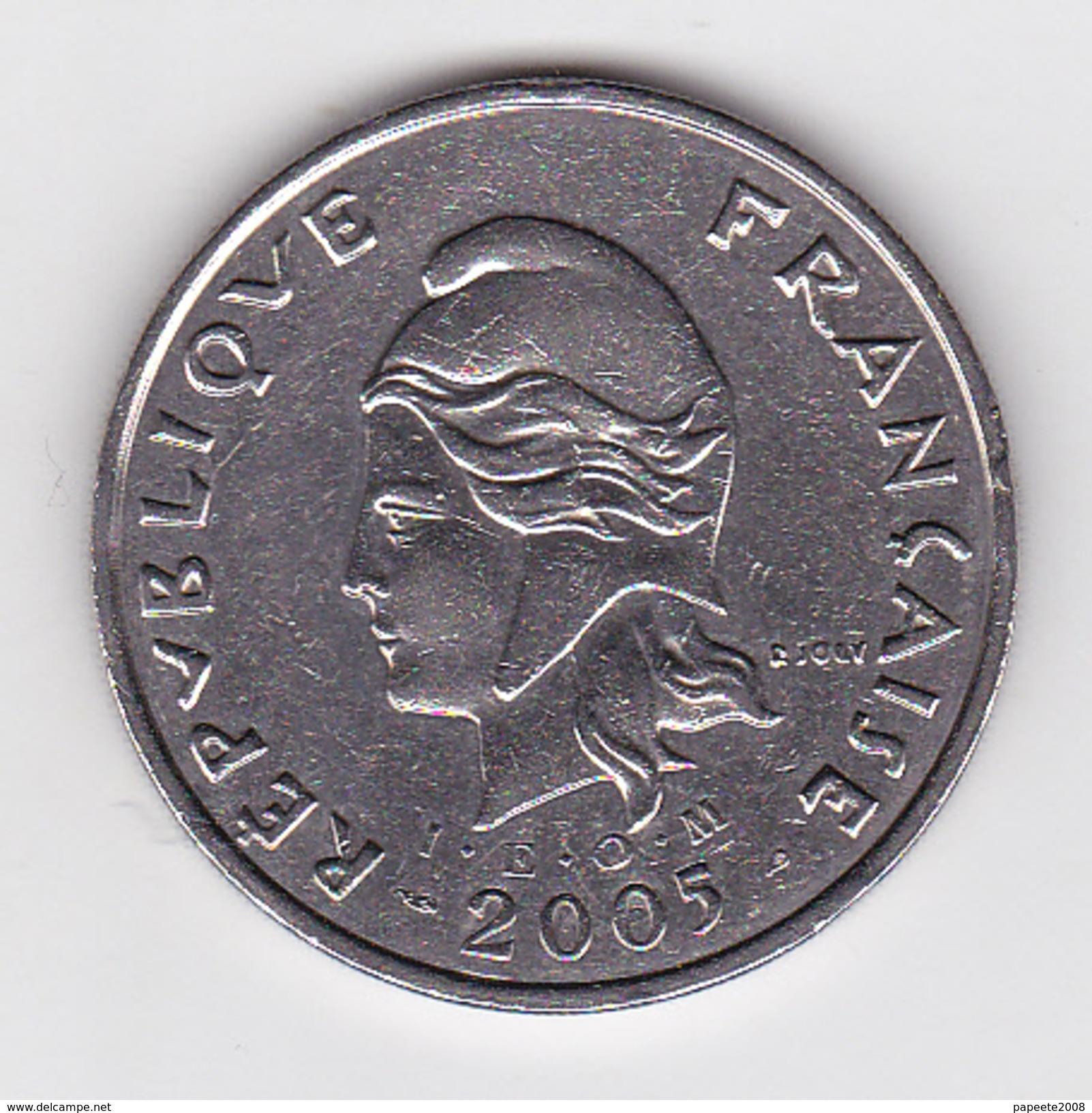 Polynésie Française - Pièce De 50 F CFP - 2005 - SUP+ - Polynésie Française