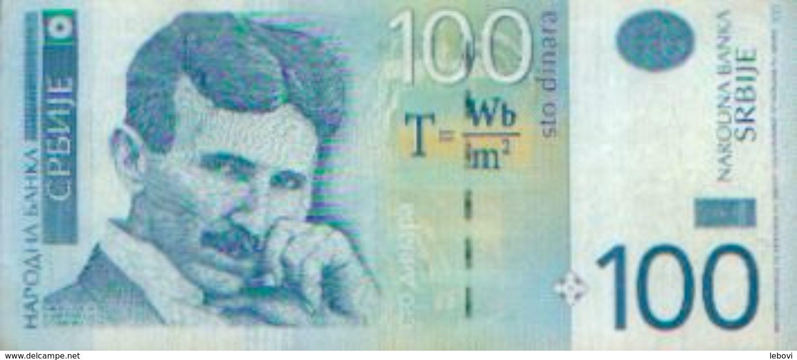 SERBIE  – 100 Dinars - Serbie