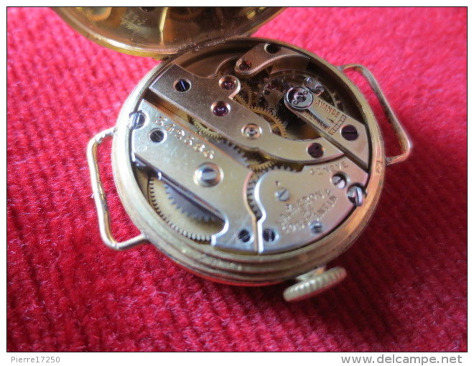 Montre Ancienne  Femme Or VACHERON CONSTANTIN - Orologi Di Lusso
