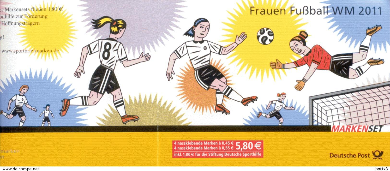 Markenheftchen Bund Postfr. MH 84 Fußballweltmeisterschaft Der Frauen Postfrisch   MNH ** - [7] West-Duitsland