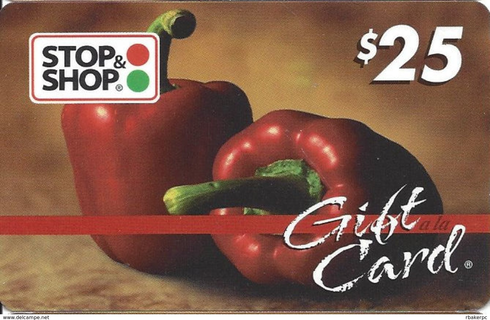 Stop & Shop Food Stores $25 Gift Card (No Actual Cash Value) - Gift Cards