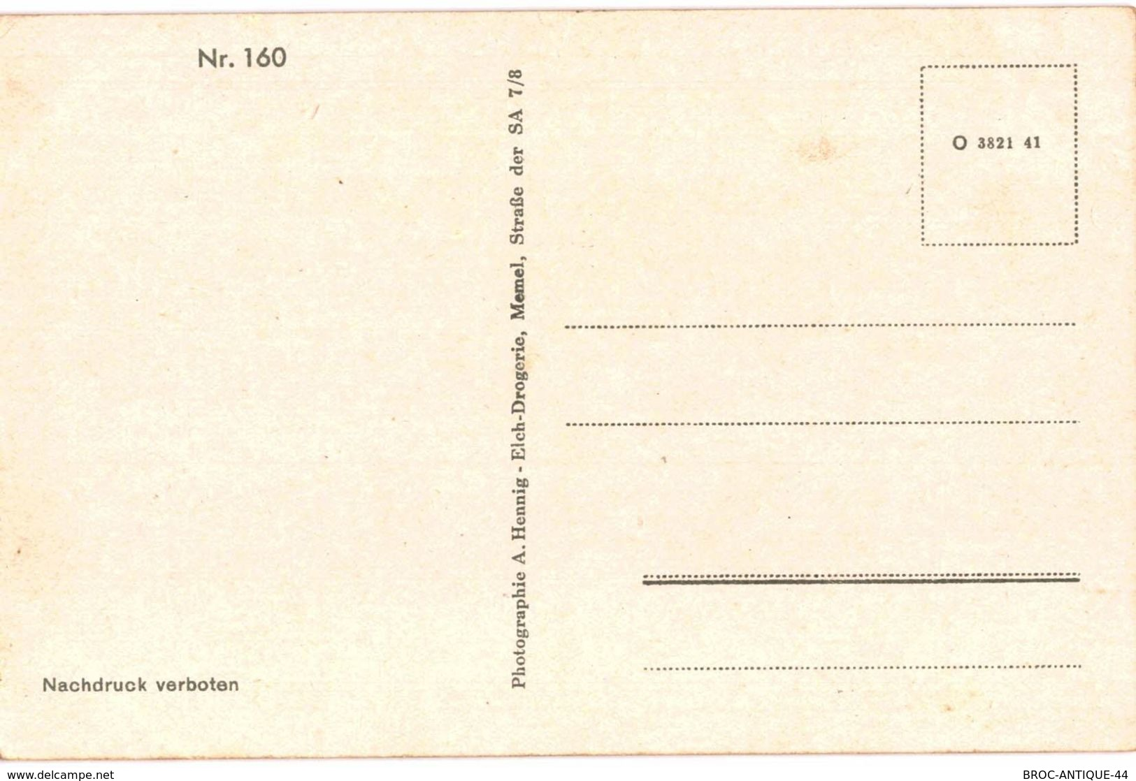 CPA N°9690 - MEMEL - DANGELFLUSS - Ostpreussen