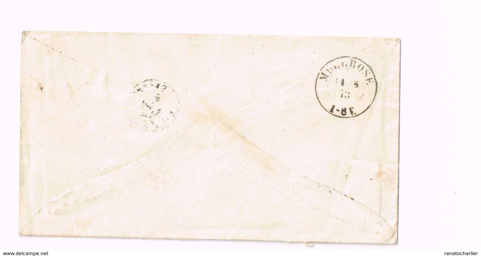 Lettre Expédiée à Müllrose (Brandenburg). Yvert 34 - Briefe U. Dokumente