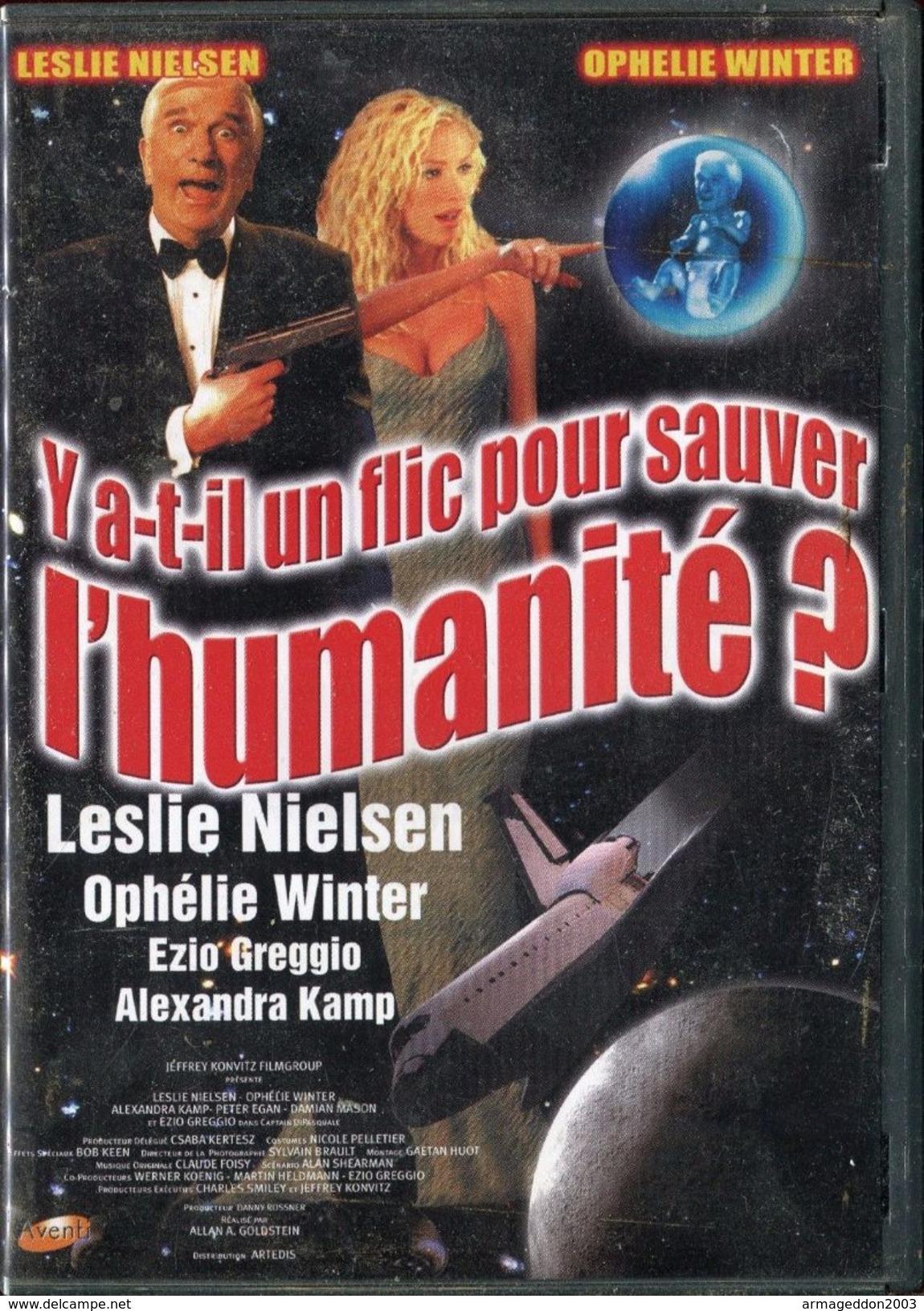 DVD Y A T-IL UN FLIC POUR SAUVER L'HUMANITE / 96 MINUTES - TBE - Comedy