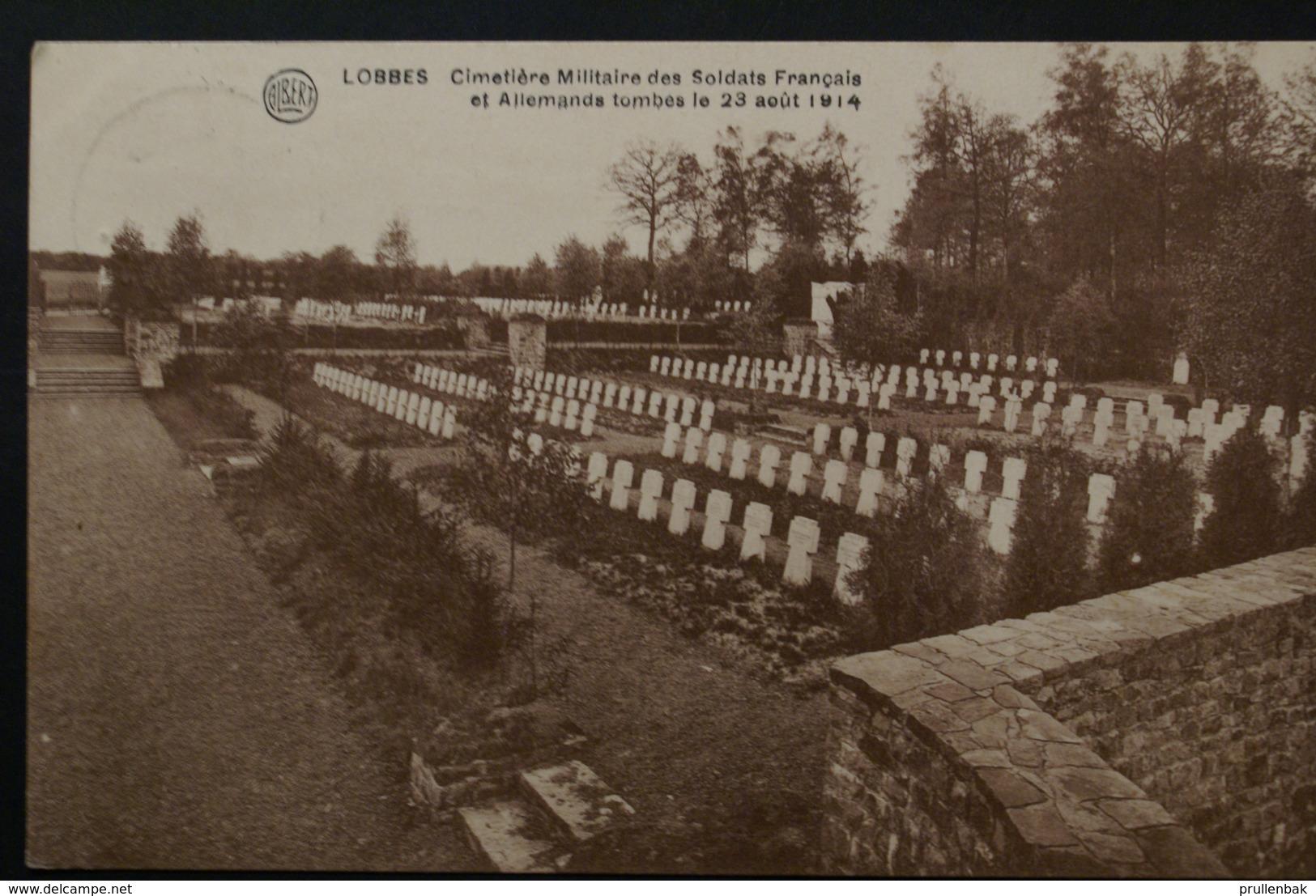 Lobbes - Cimetière Militaire Des Soldats Francais Et Allemands - Lobbes