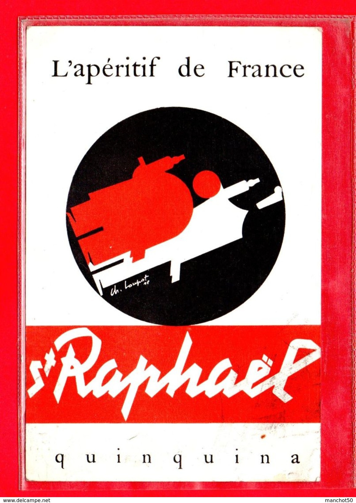 PUBLICITE-CPSM ST-RAPHAEL QUINQUINA - L'APERITIF DE FRANCE - Pubblicitari