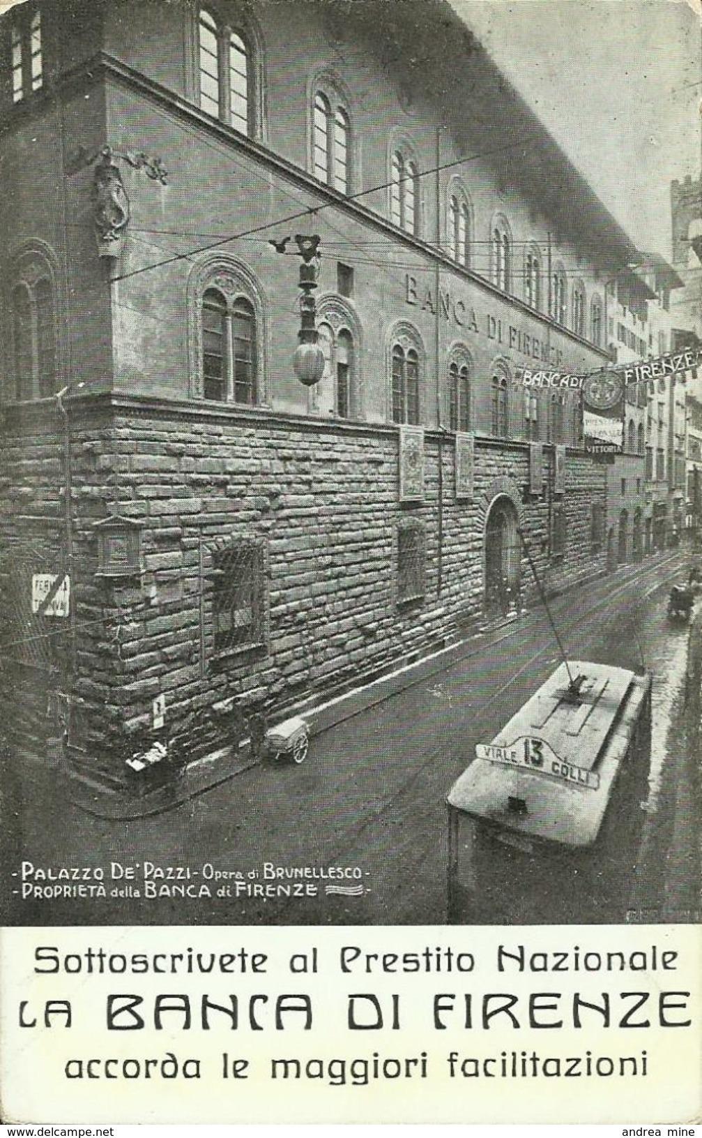 FIRENZE, BANCA DI FIRENZE -  AND105 - Firenze (Florence)