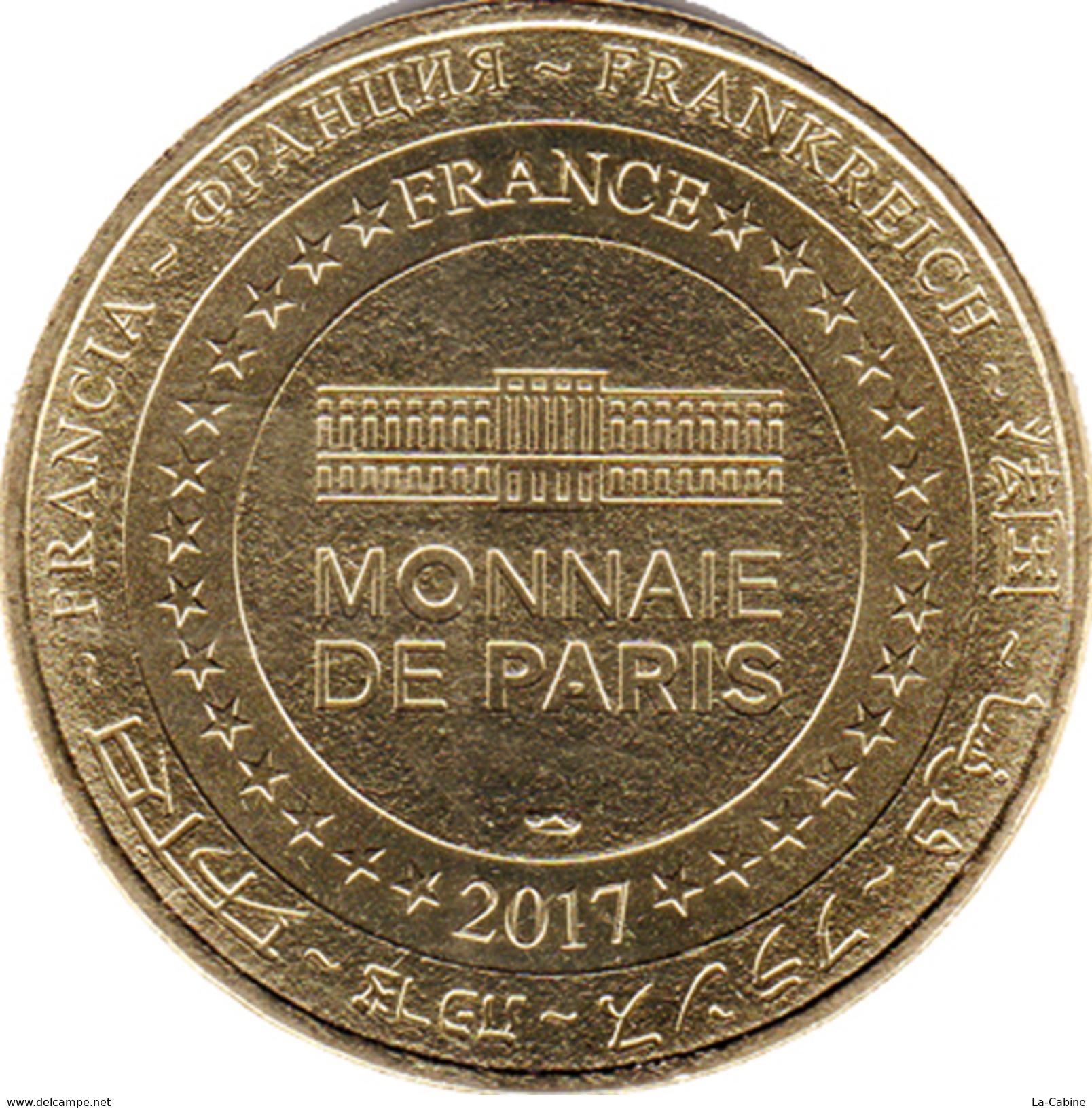 22 CÔTES D'ARMOR DINAN N°2 MÉDAILLE MONNAIE DE PARIS 2017 JETON TOKEN MEDALS COINS - Monnaie De Paris