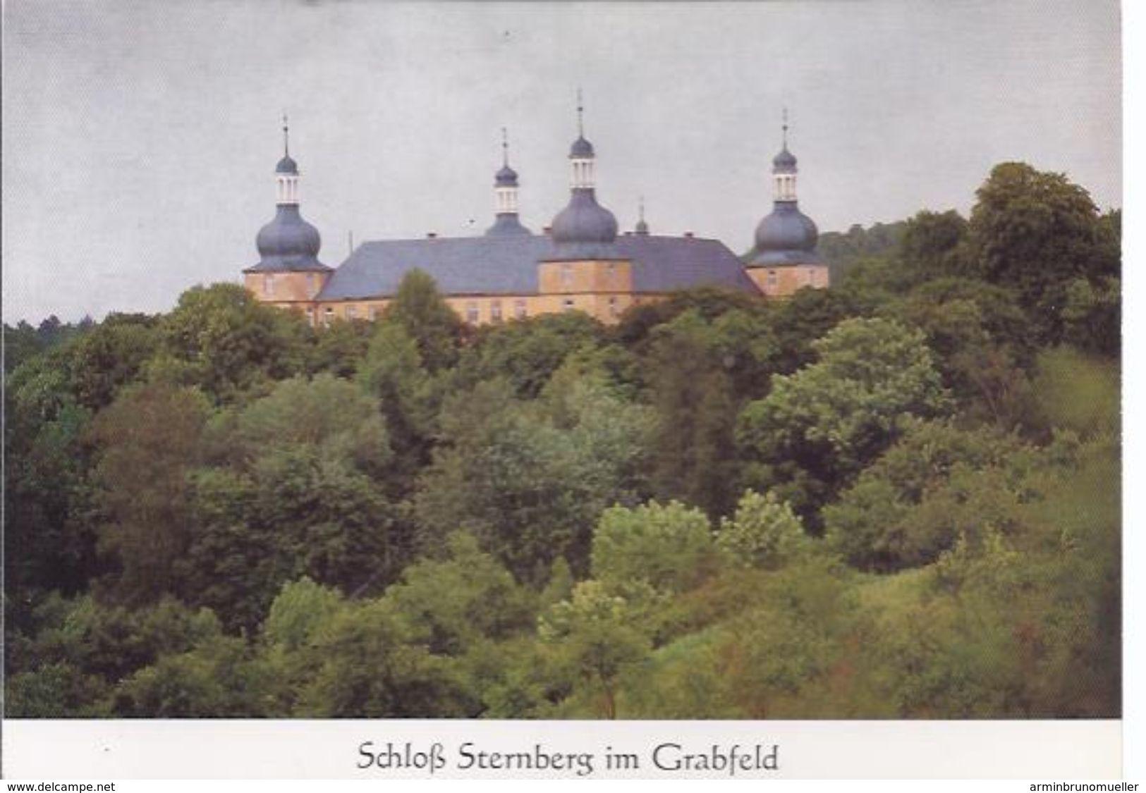 Schloß Sternberg Im Grabfeld - In Franken -  **6299-35** - Châteaux