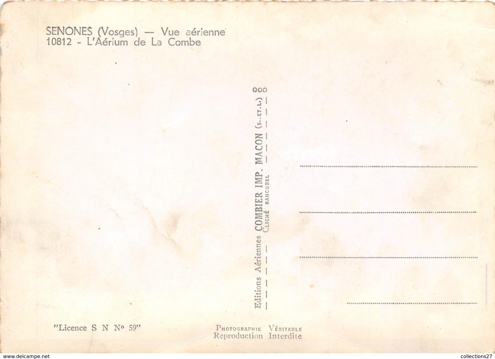 88-SENONES- VUE  AERIENNE - Senones
