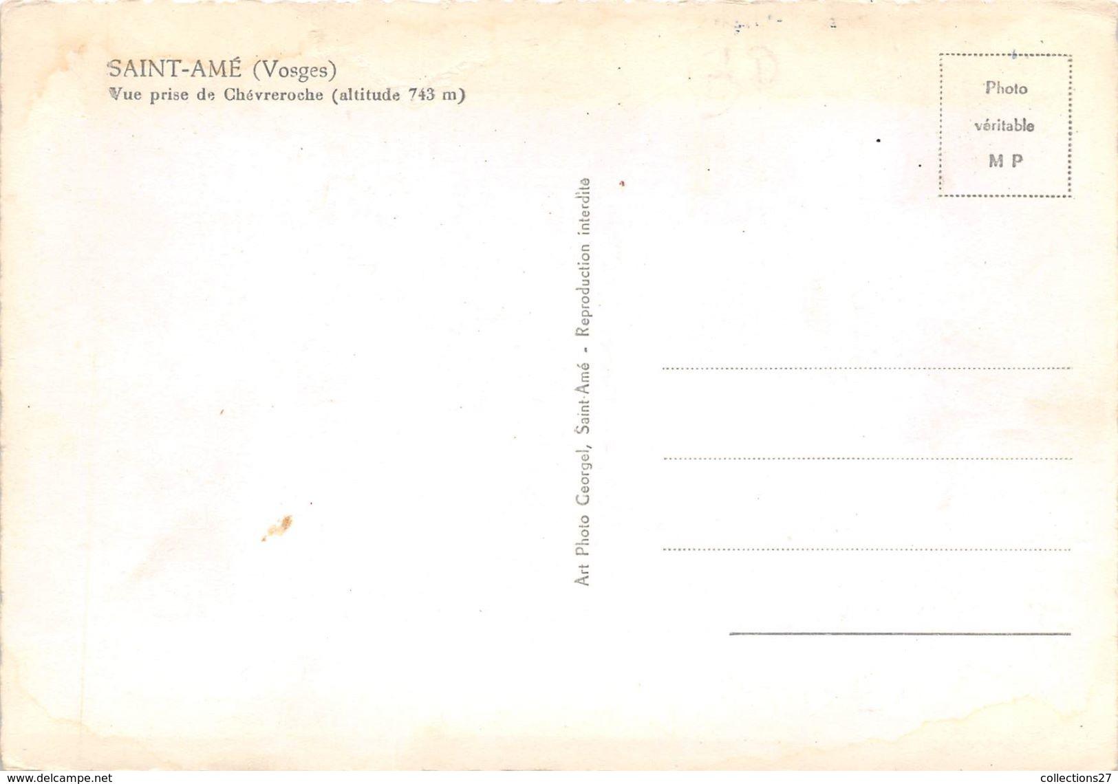 88-SAINT-AME- VUE PRISE DE CHEVREROCHE - France