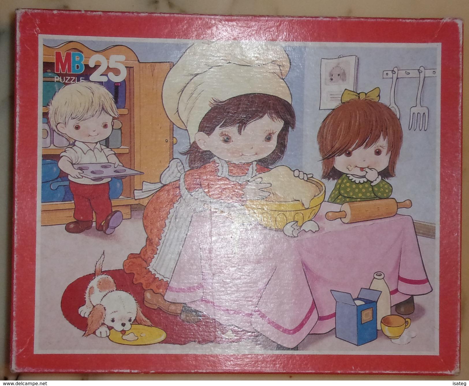 """Puzzle Vintage """"Quand Je Serai Grand"""" - Mb - Puzzles"""