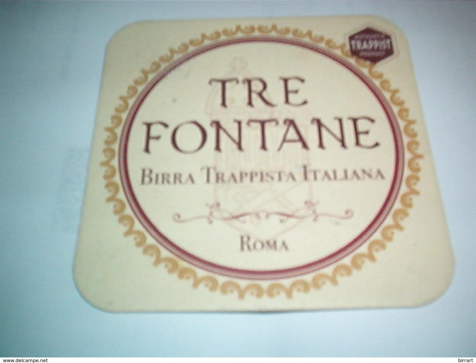 SOTTOBICCHIERE-COASTER-POSAVASOS-BIRRIFICIO MICRO ITALIA-BIRRIFICIO TRE FONTANE - Sous-bocks