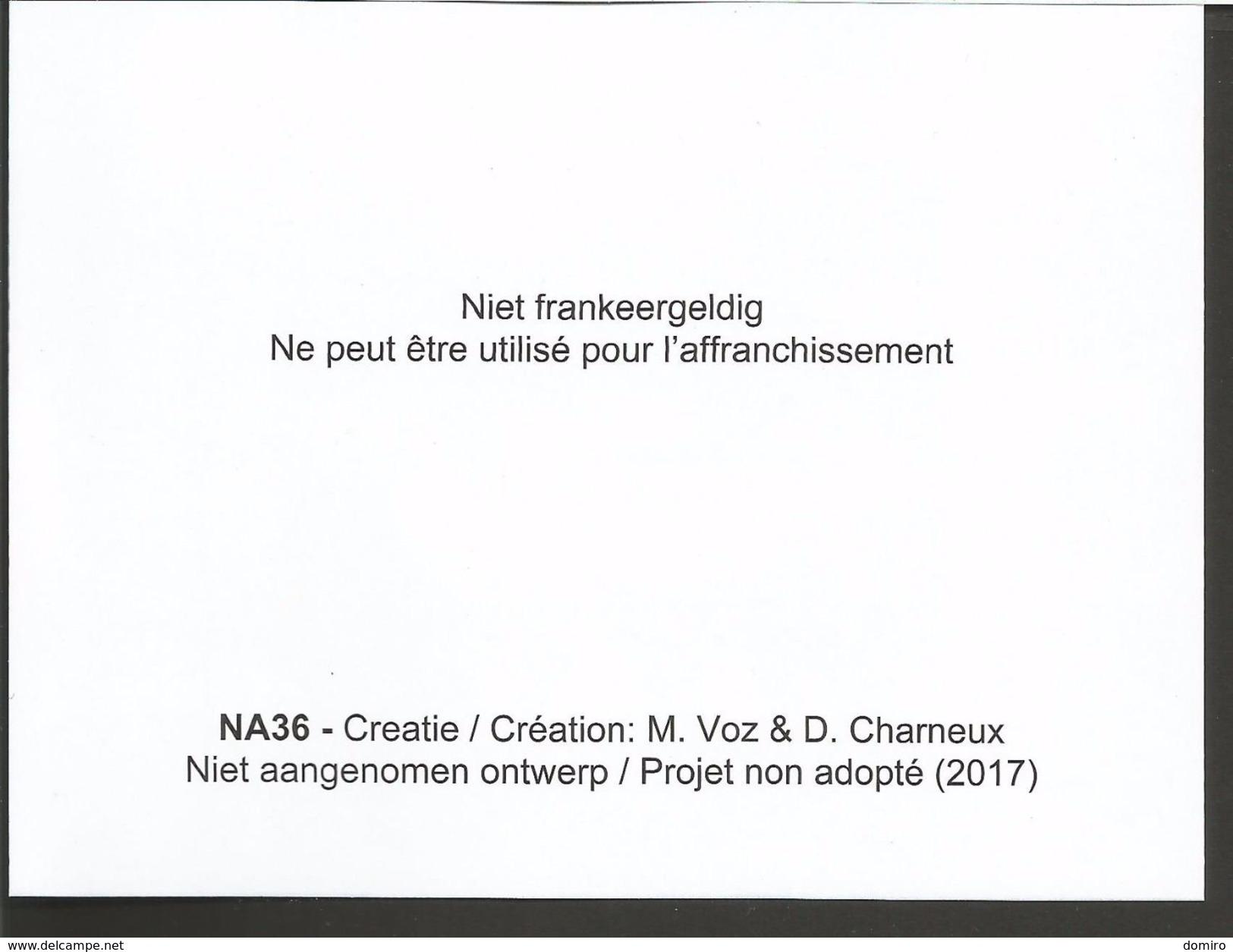 BE NA36        PONTS - BRUGGEN  (OPB/COB 2018) - Projets Non Adoptés