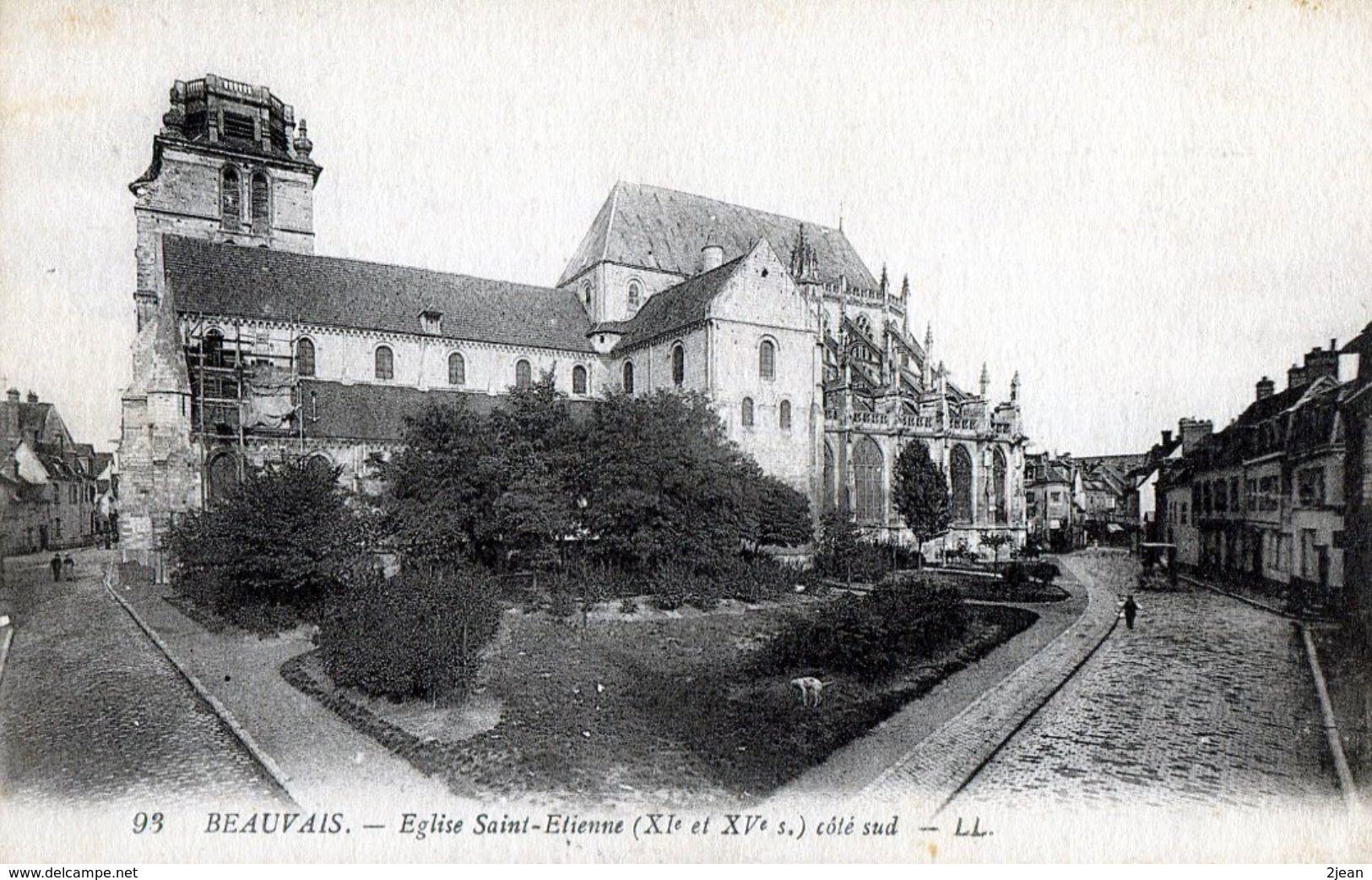 Beauvais Eglise Saint Etienne   P20b - Beauvais