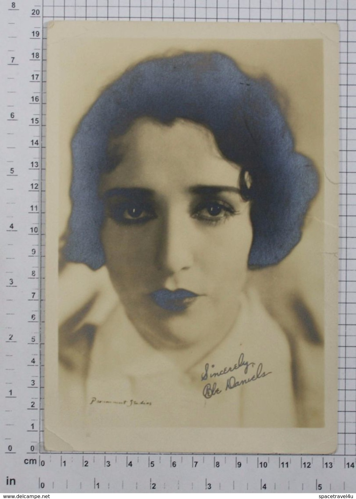 BEBE DANIELS - Vintage PHOTO Autograph REPRINT (SF-06) - Reproductions