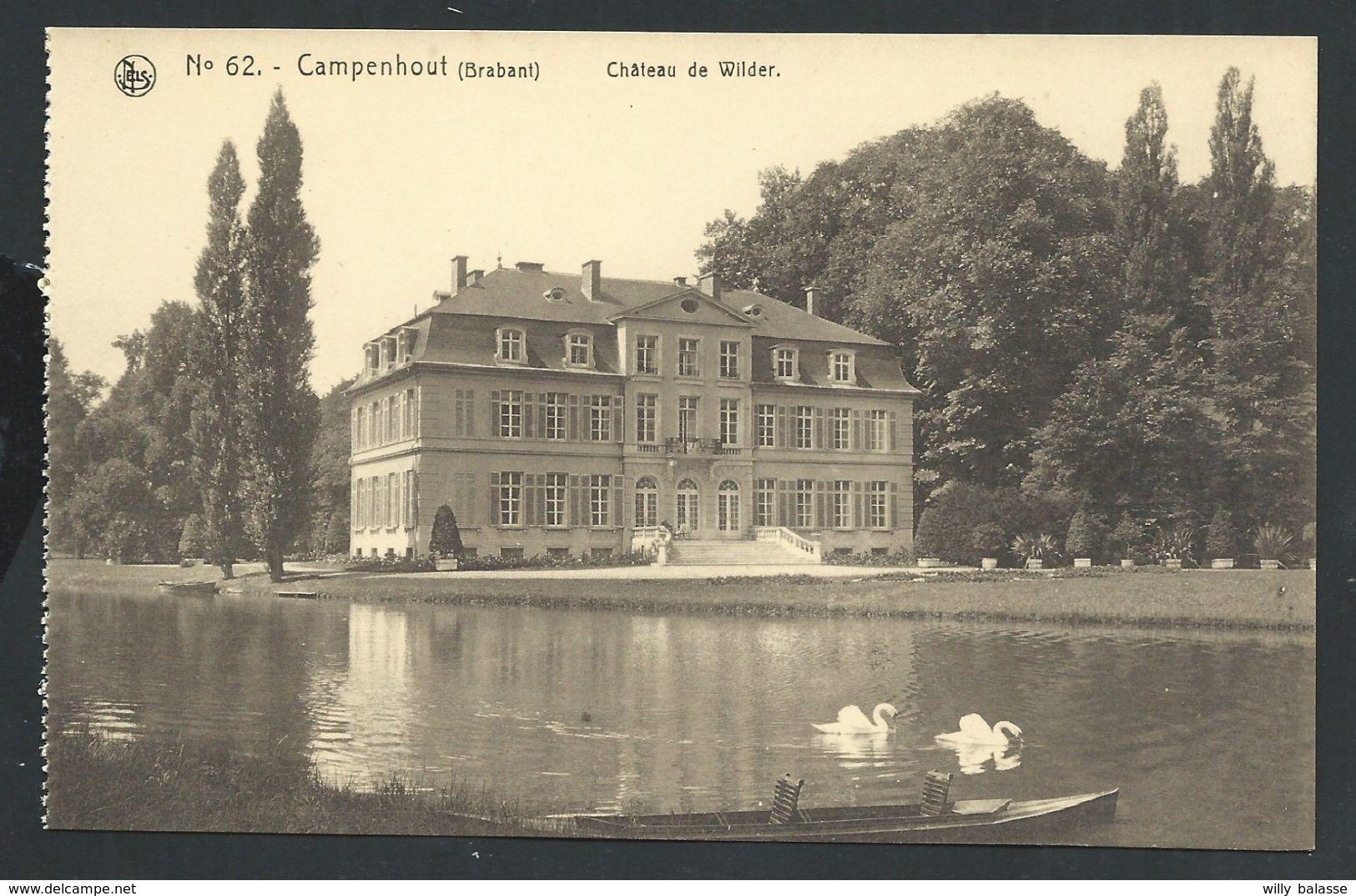+++ CPA - CAMPENHOUT - KAMPENHOUT - Château De Wilder - Nels  62  // - Kampenhout