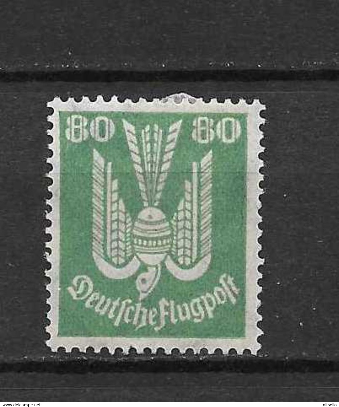LOTE  1365  ///   ALEMANIA IMPERIO AÑO 1922   YVERT Nº: 7   *MH - Aéreo