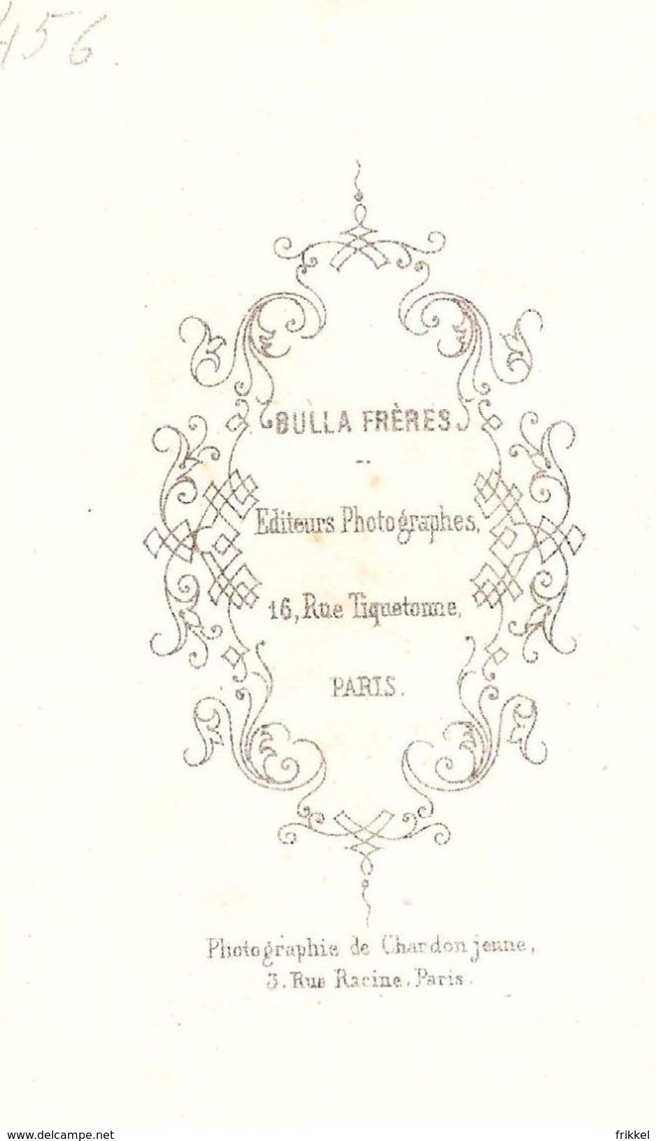 Zeer Oude Foto (6 X 10 Cm) Van Schilderij ( Bulla Frères Paris ) - Alte (vor 1900)