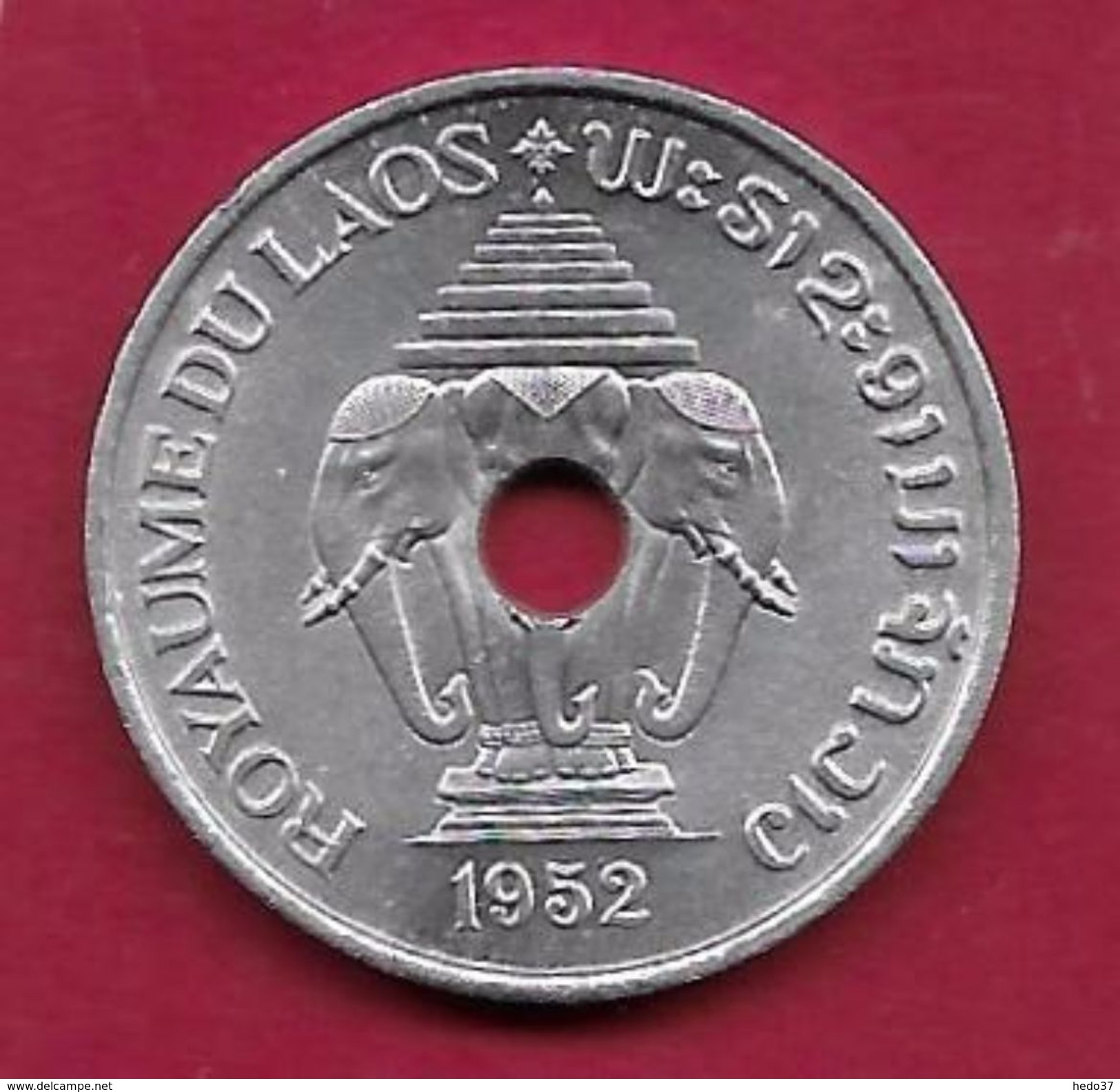 Laos - 20 Cents -1952 - Laos