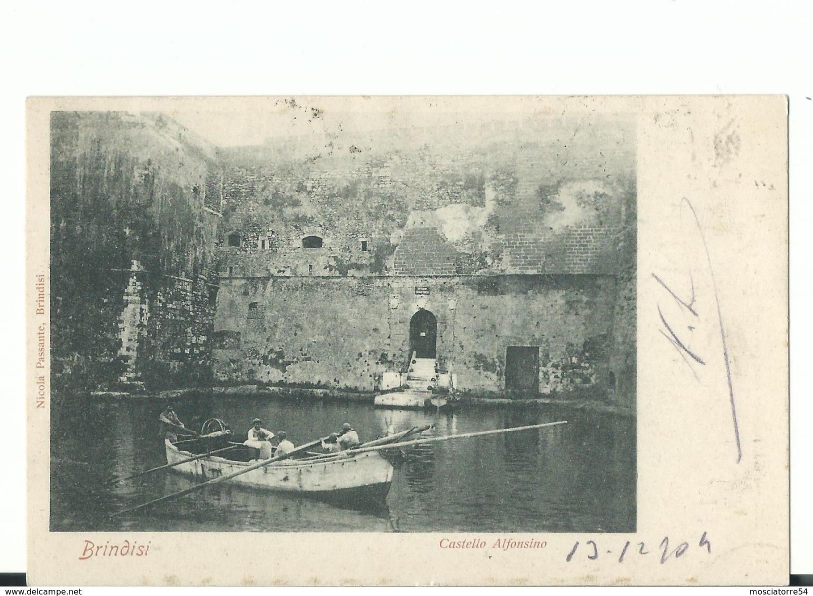 Brindisi -  Castello Alfonino Viagg - Brindisi