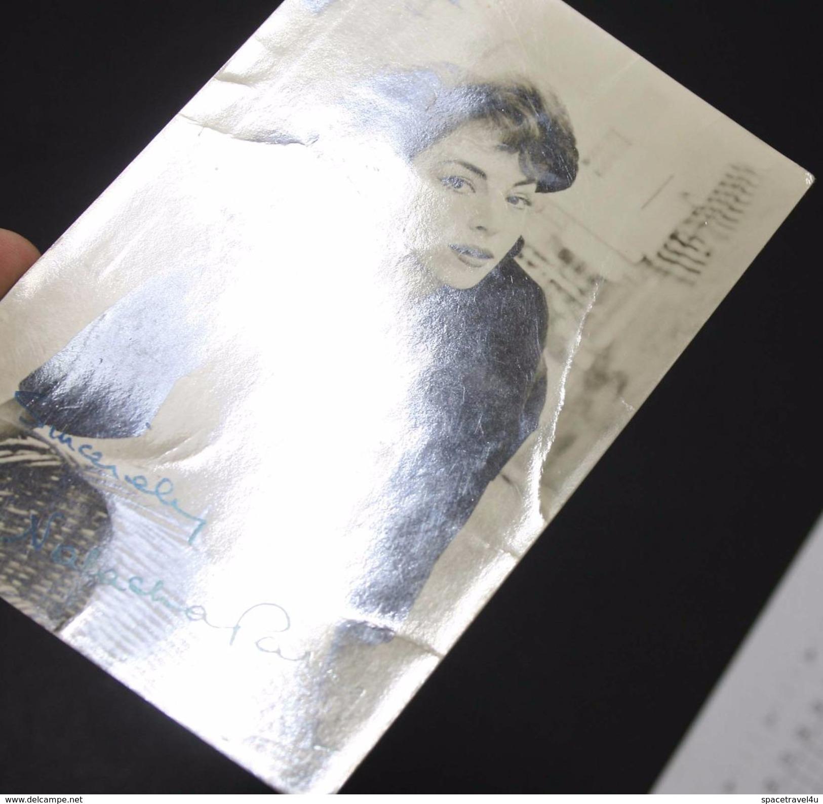 NATASHA PARRY - Vintage PHOTO Autograph REPRINT (AT-12) - Reproductions
