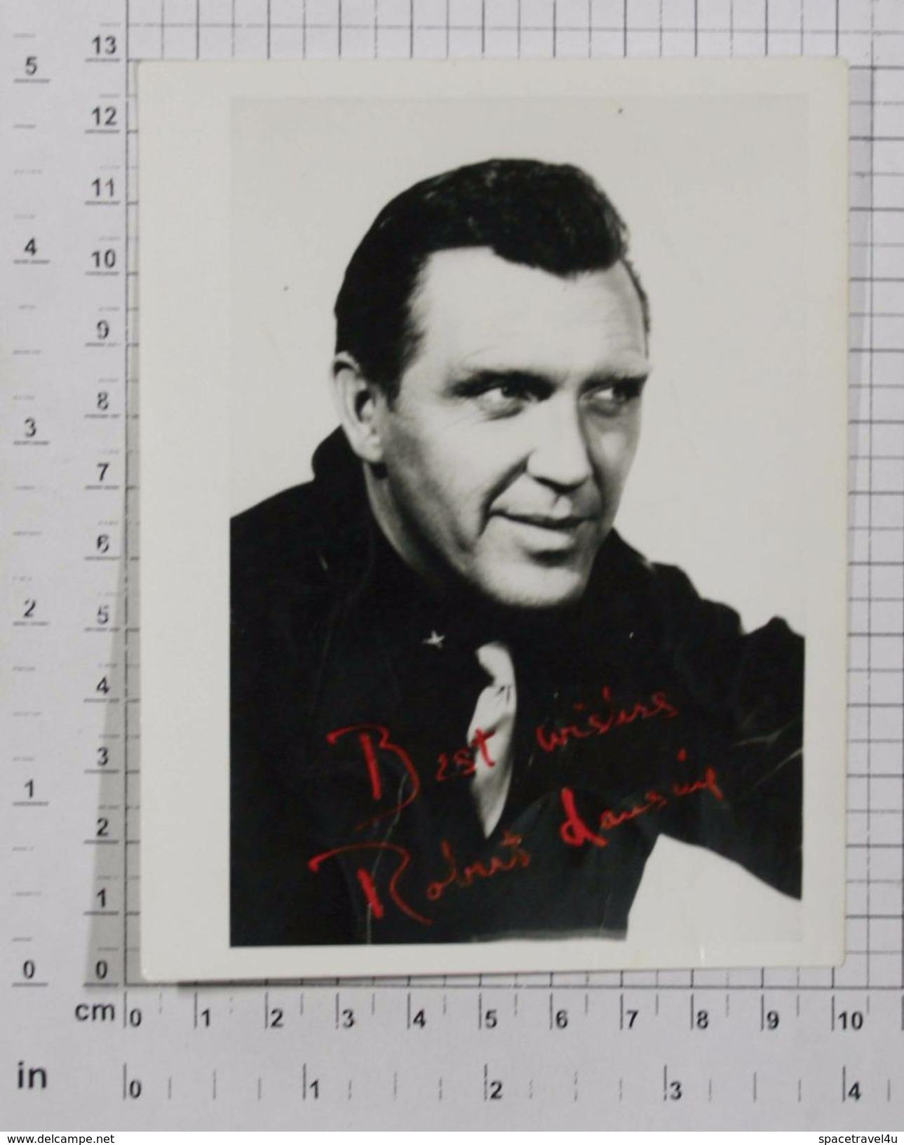 ROBERT LANSING - Vintage PHOTO Autograph REPRINT (AT-73) - Reproductions