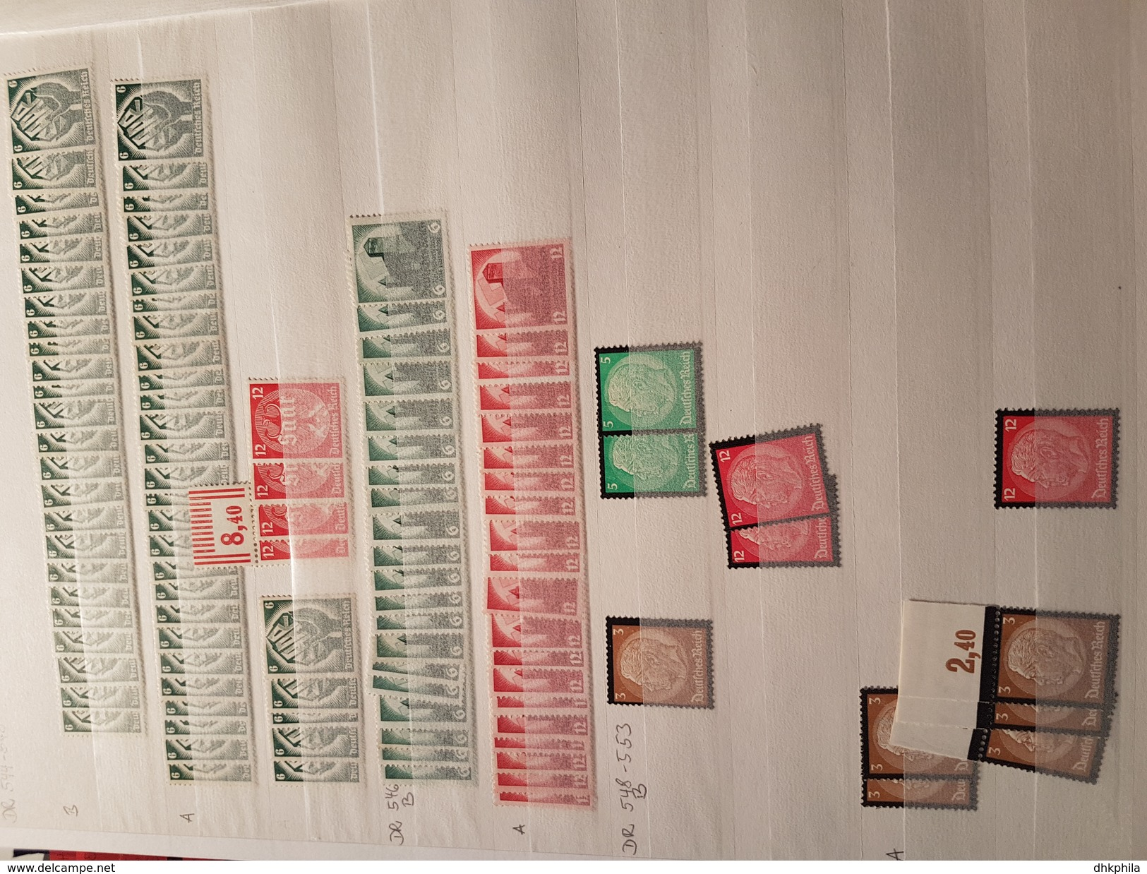 MEGA Sammlung, DR, BRD, Saar, Etwas Europa (*/**), Wenig (o) Aus Händleraufkauf - 200k MEuro Bei ** - Deutschland