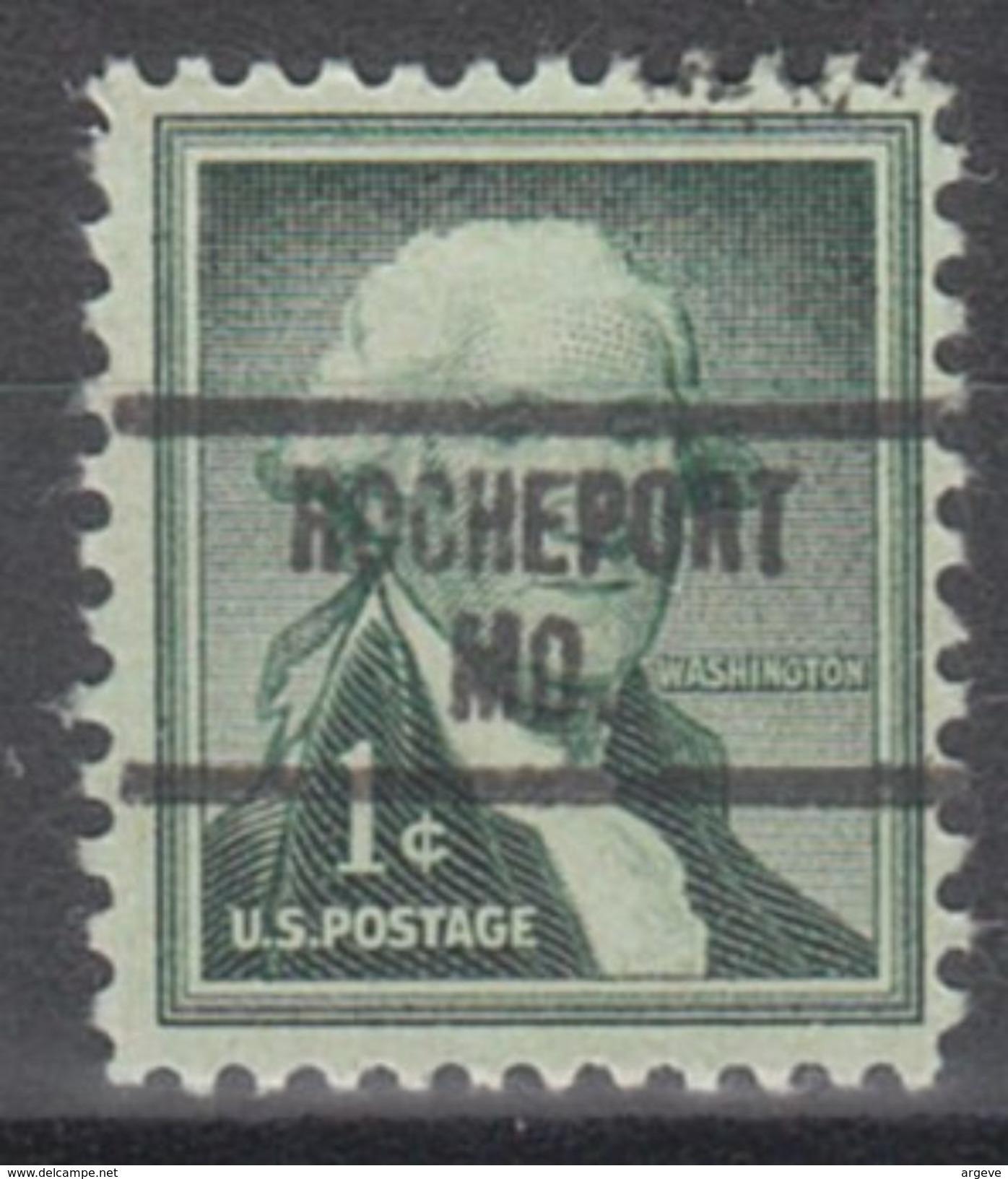 USA Precancel Vorausentwertung Preo, Locals Missouri, Rocheport 734 - Vereinigte Staaten