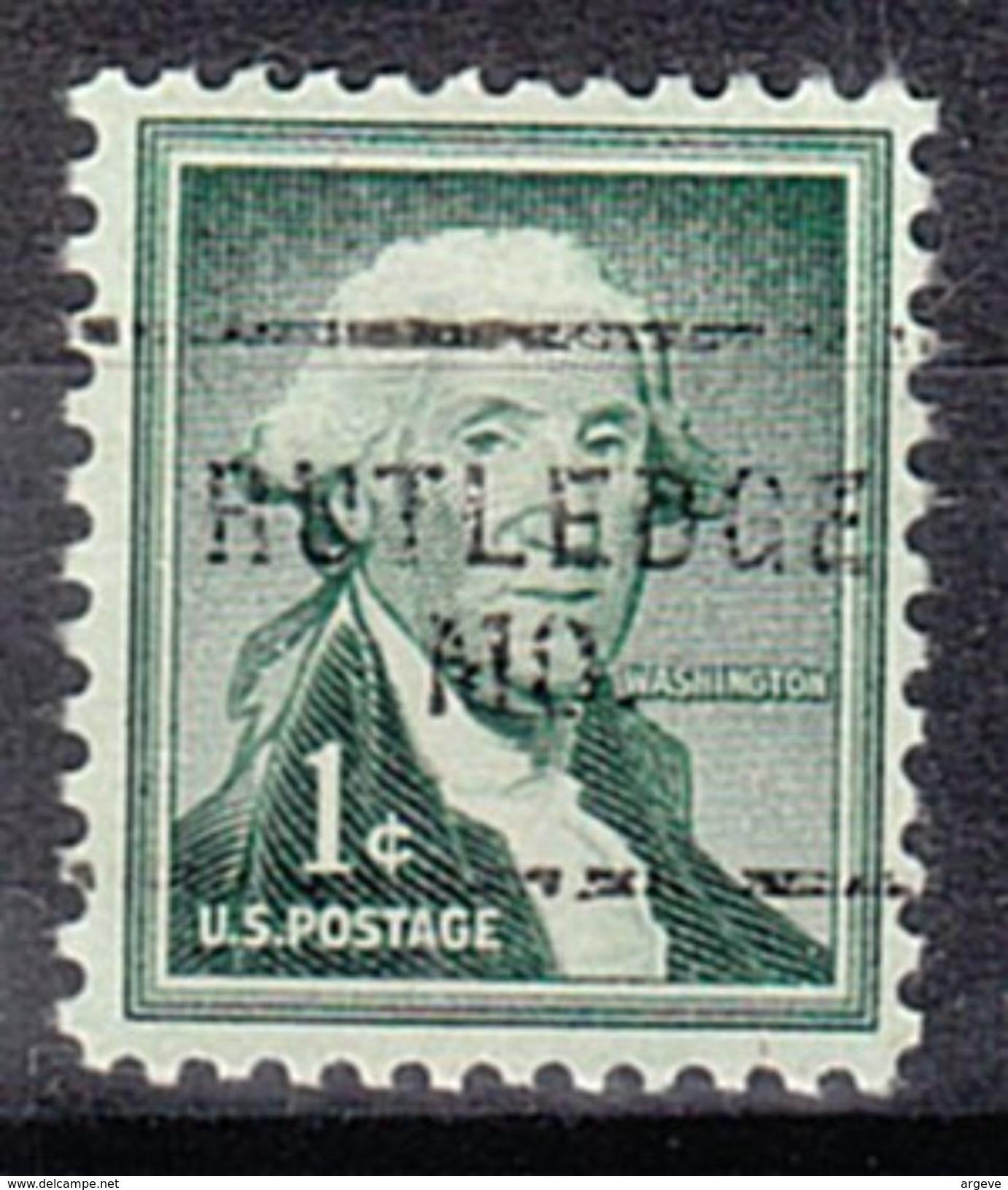 USA Precancel Vorausentwertung Preo, Locals Missouri, Rutlege 703 - Vereinigte Staaten