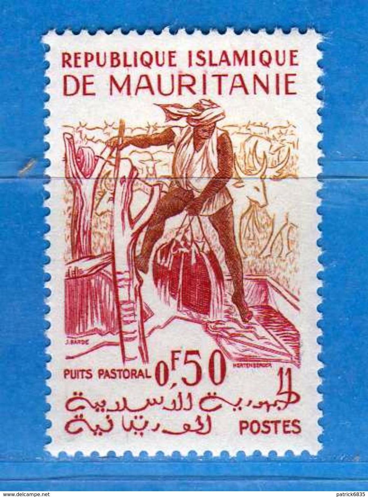 (Mn1) MAURITANIE * - 1960-61 - Activités Tradictionnelles. Yvert. 140 -  MH. .  Vedi Descrizione. - Mauritania (1960-...)