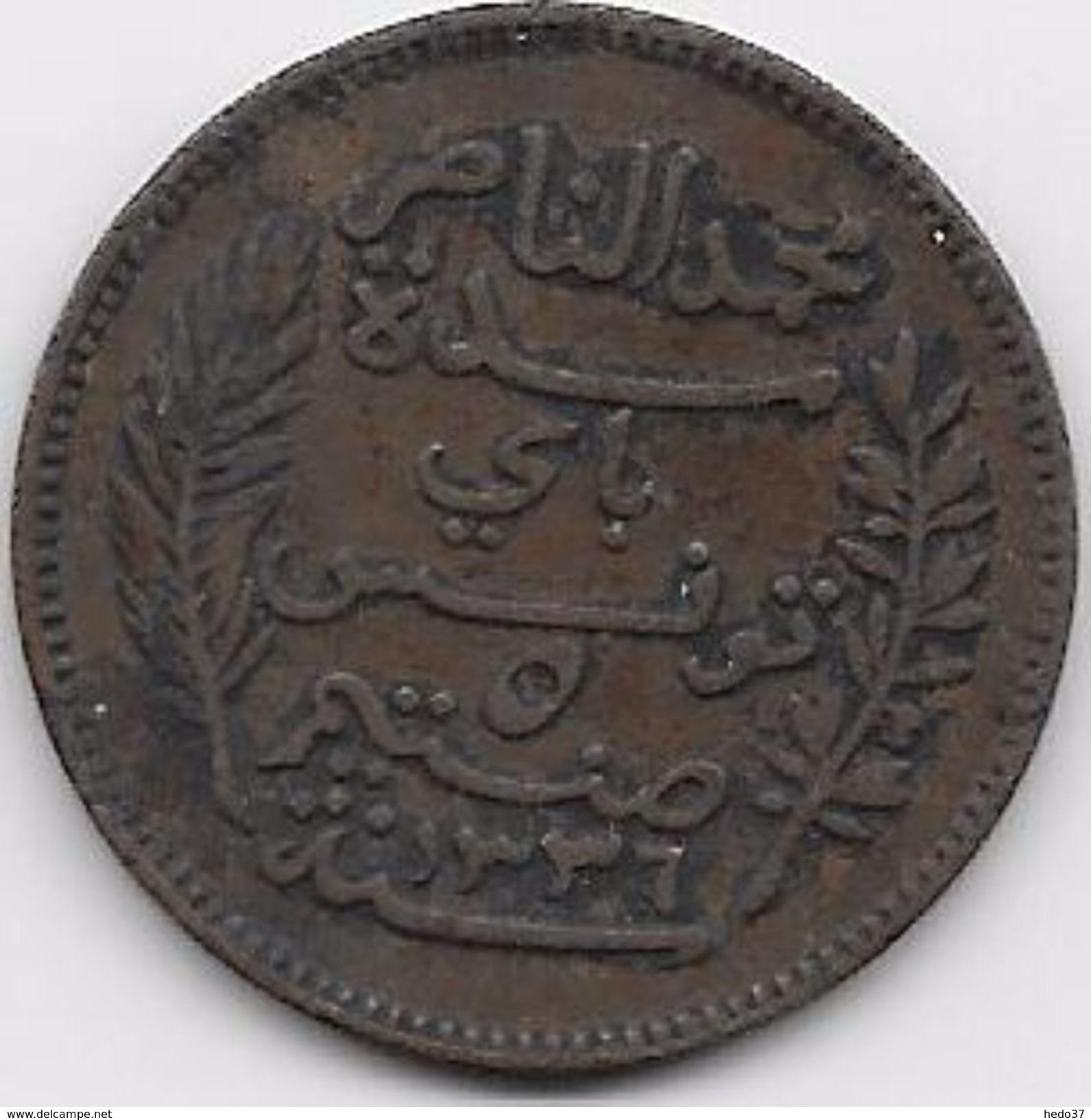 Tunisie 5 Centimes 1917 - Monnaies