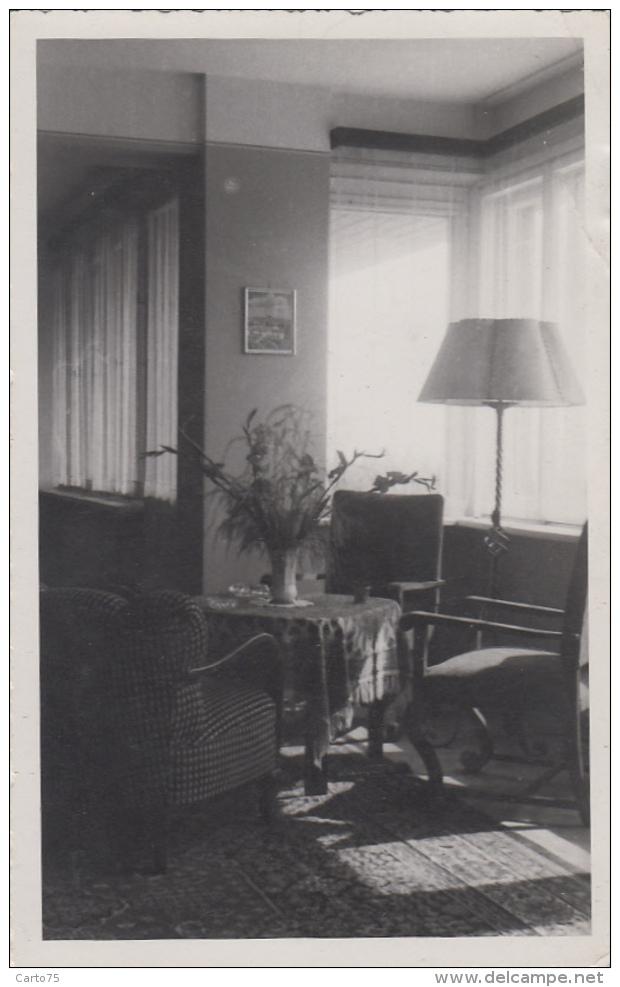 "Pologne - Gdynia - Carte-Photo - Intérieur Maison - Foto ""Ars"" Swietojanska - 1946 - Pologne"