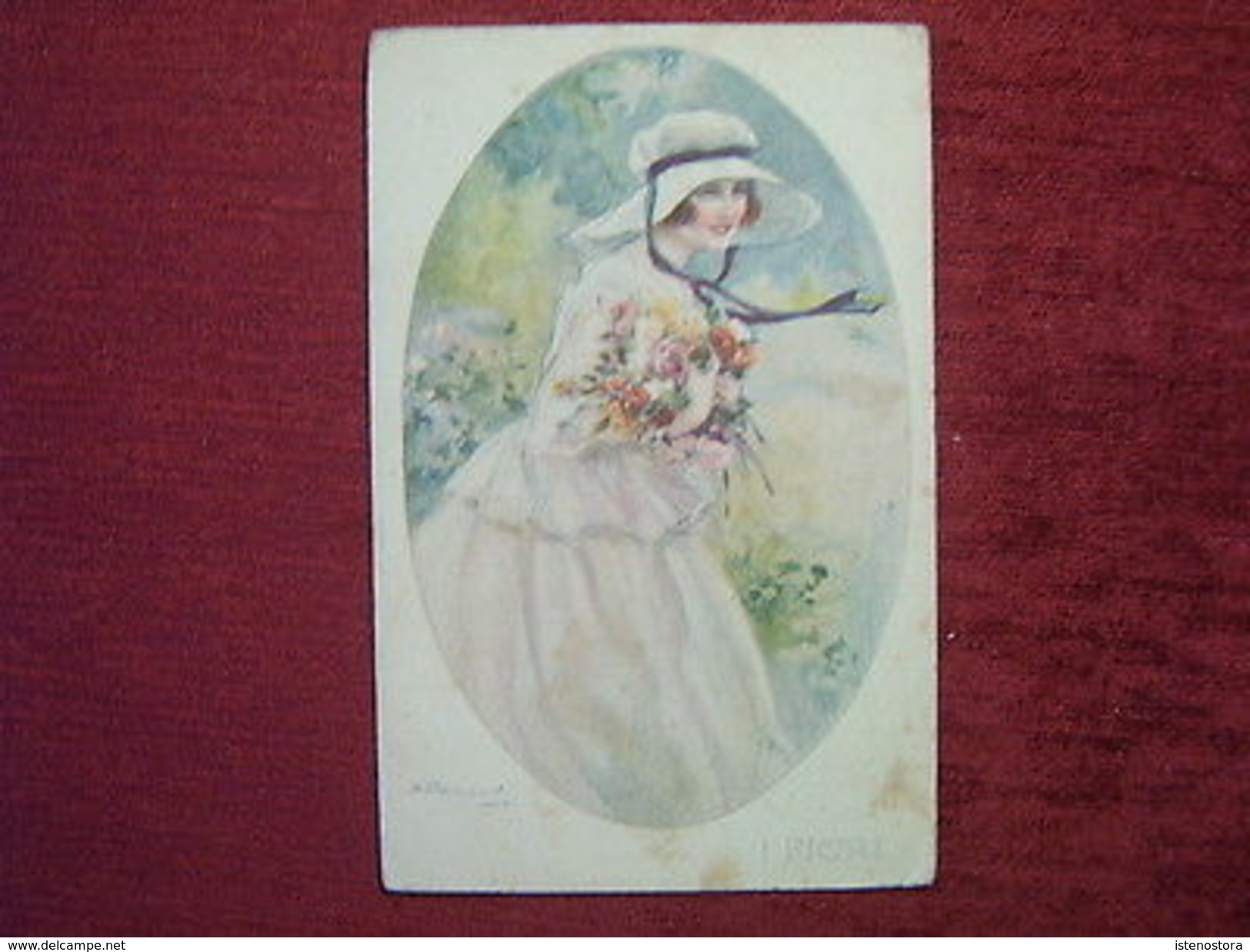 ARTIST SIGNED POSTCARD / BOMPARD / 1910-20 - Illustrators & Photographers