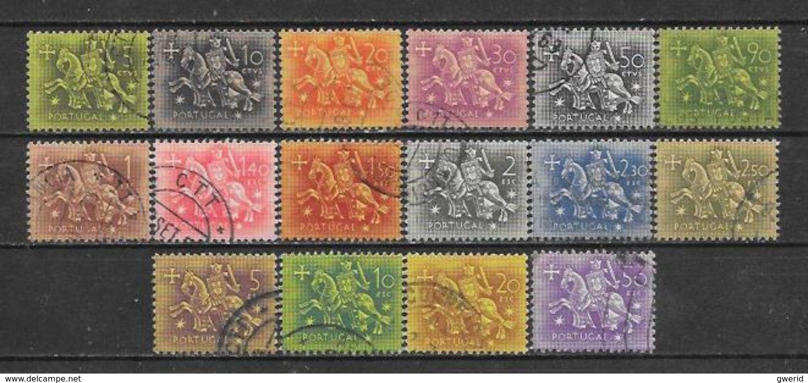 PORTUGAL  N° 774/88 YVERT OBLITERE - 1910-... República