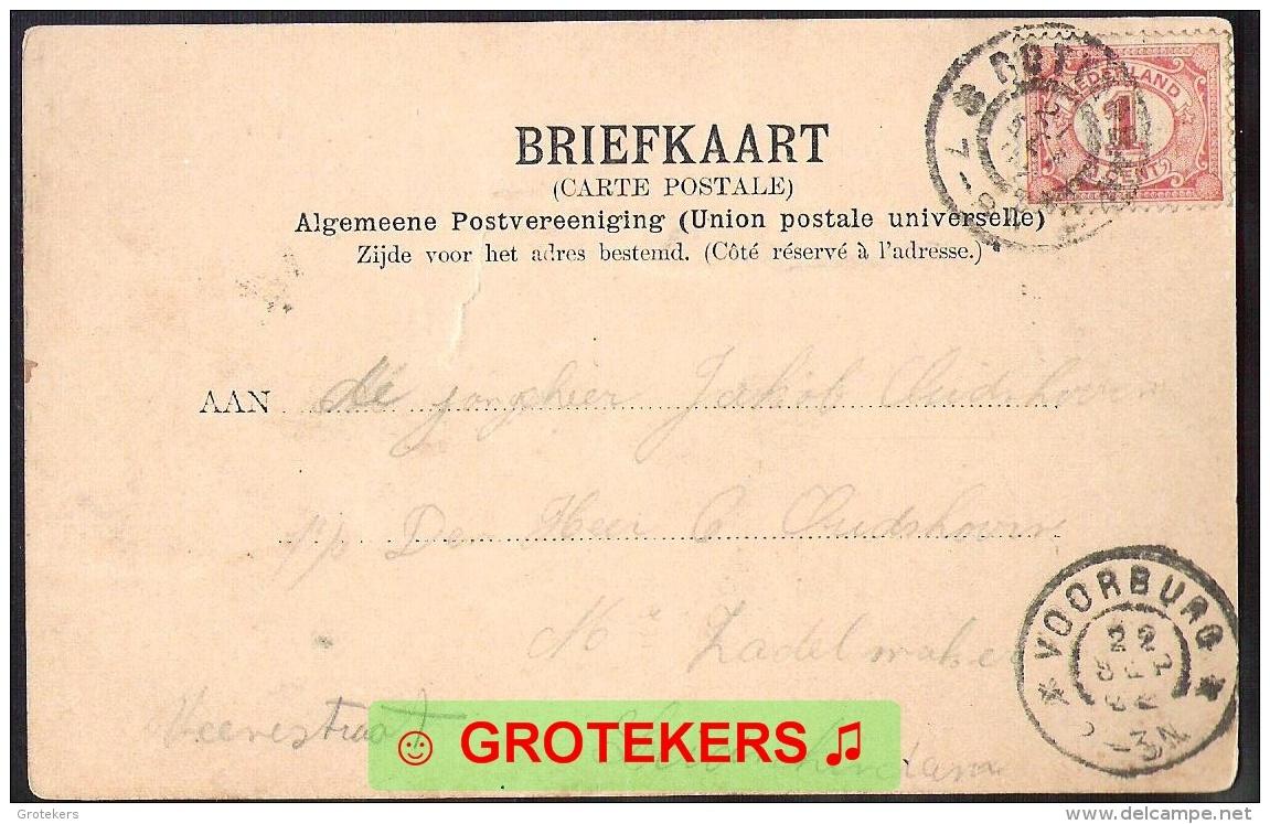 ROTTERDAM Binnenwegschebrug 1902 Zeer Levendig - Rotterdam