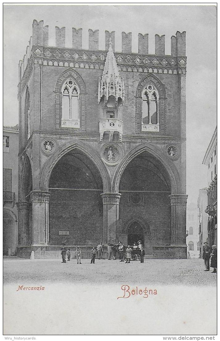 AK 0768  Bologna ( Mercanzia ) Um 1908 - Bologna