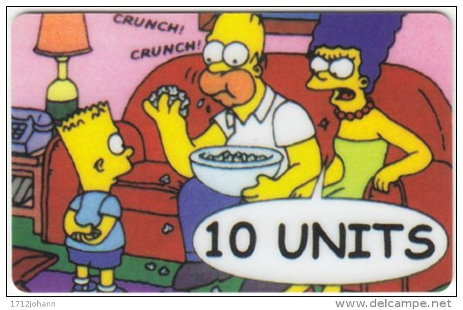 USA C-383 Prepaid  - Cinema, The Simpsons - FAKE - Vereinigte Staaten