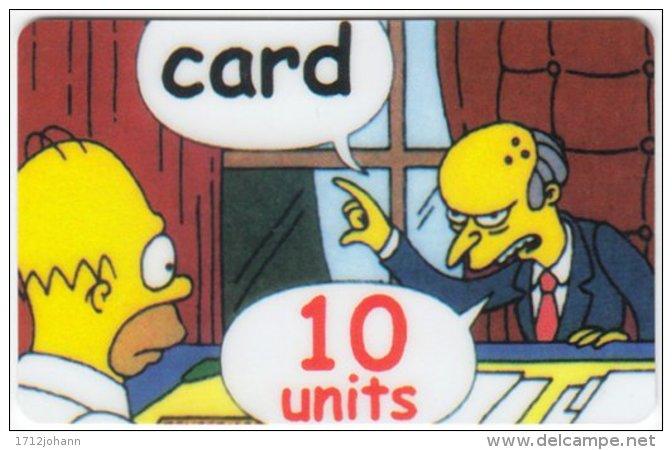 USA C-386 Prepaid  - Cinema, The Simpsons - FAKE - Vereinigte Staaten