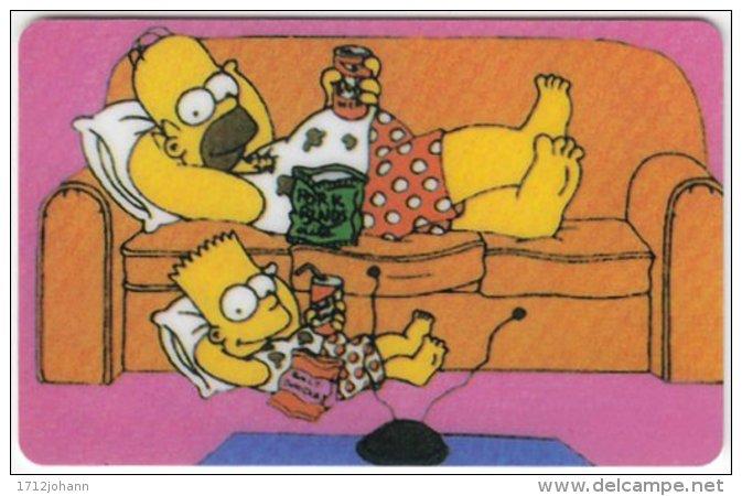 USA C-387 Prepaid  - Cinema, The Simpsons - FAKE - Sonstige