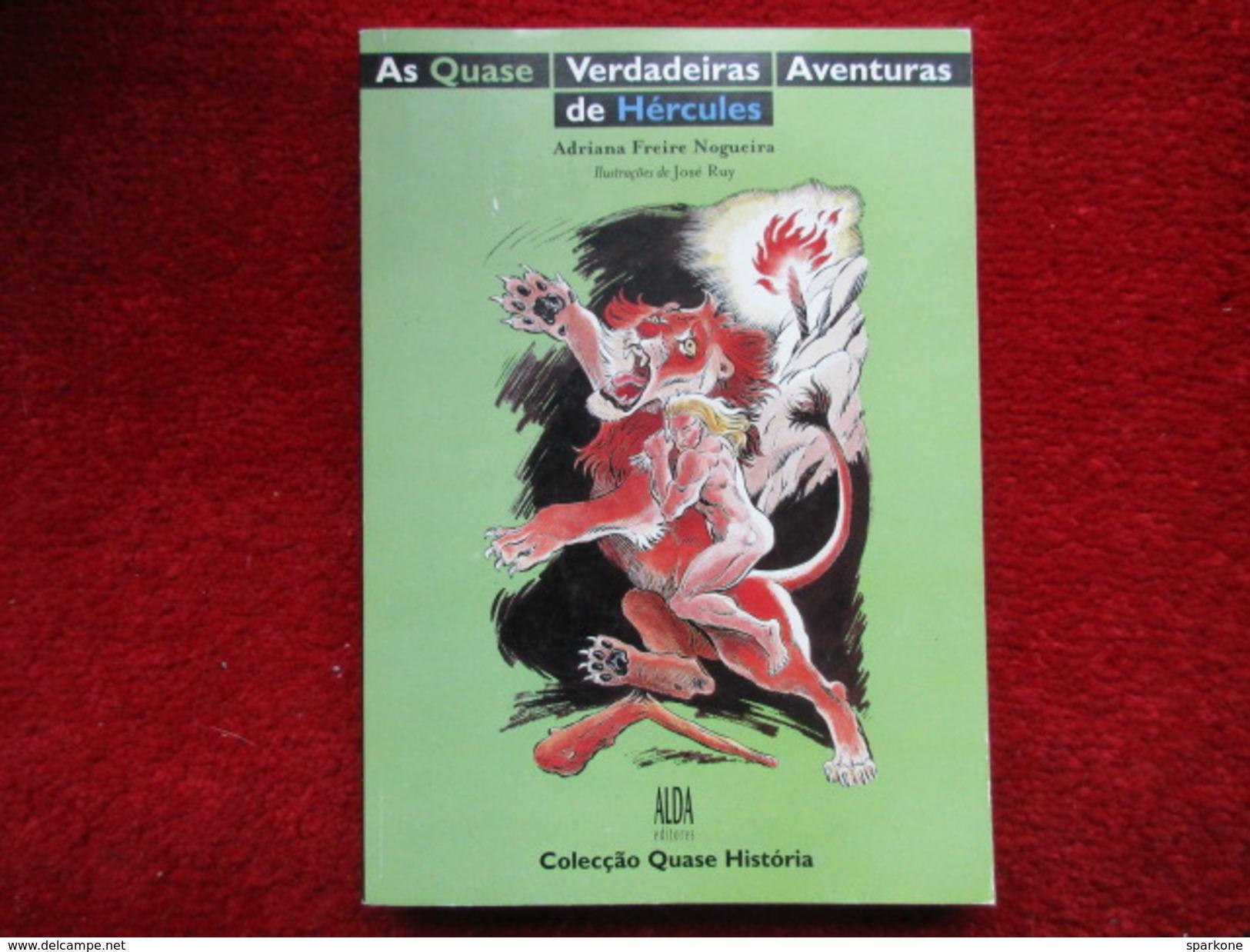 """As Quase Verdadeiras """"Aventuras De Hercules"""" Portugais (Adriana Freire Nogueira) éditions Alda De 1997 - Livres, BD, Revues"""