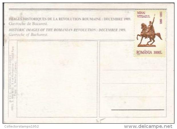 65699- GAVROCHE OF BUCHAREST, 1989 REVOLUION - Roumanie