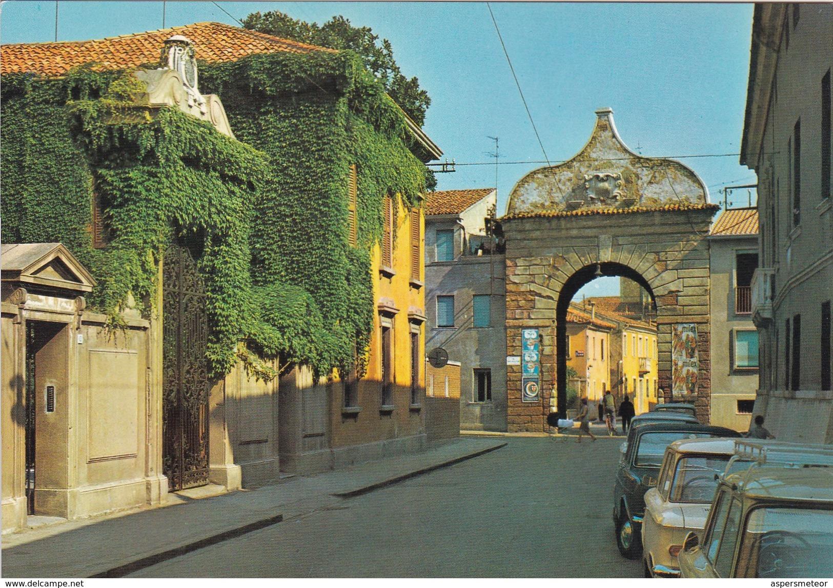 ROVIGO,VENETO.PUERTA S AGOSTINO  - ITALIA/L'ITALIE/ITALY - CIRCA 1980S - BLEUP - Rovigo
