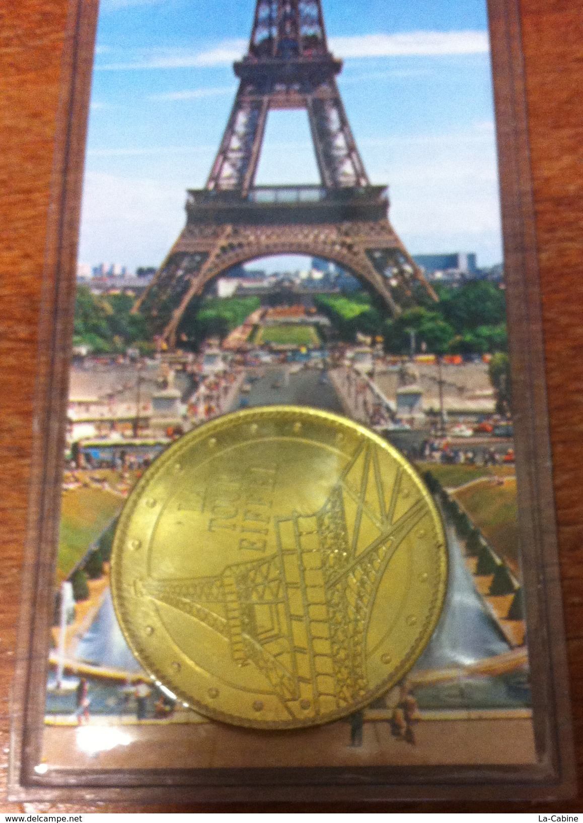 75001 PARIS LA TOUR EIFFEL N°3 MÉDAILLE ARTHUS BERTRAND 2008 AVEC MARQUE PAGE JETON MEDALS TOKEN COINS - Arthus Bertrand