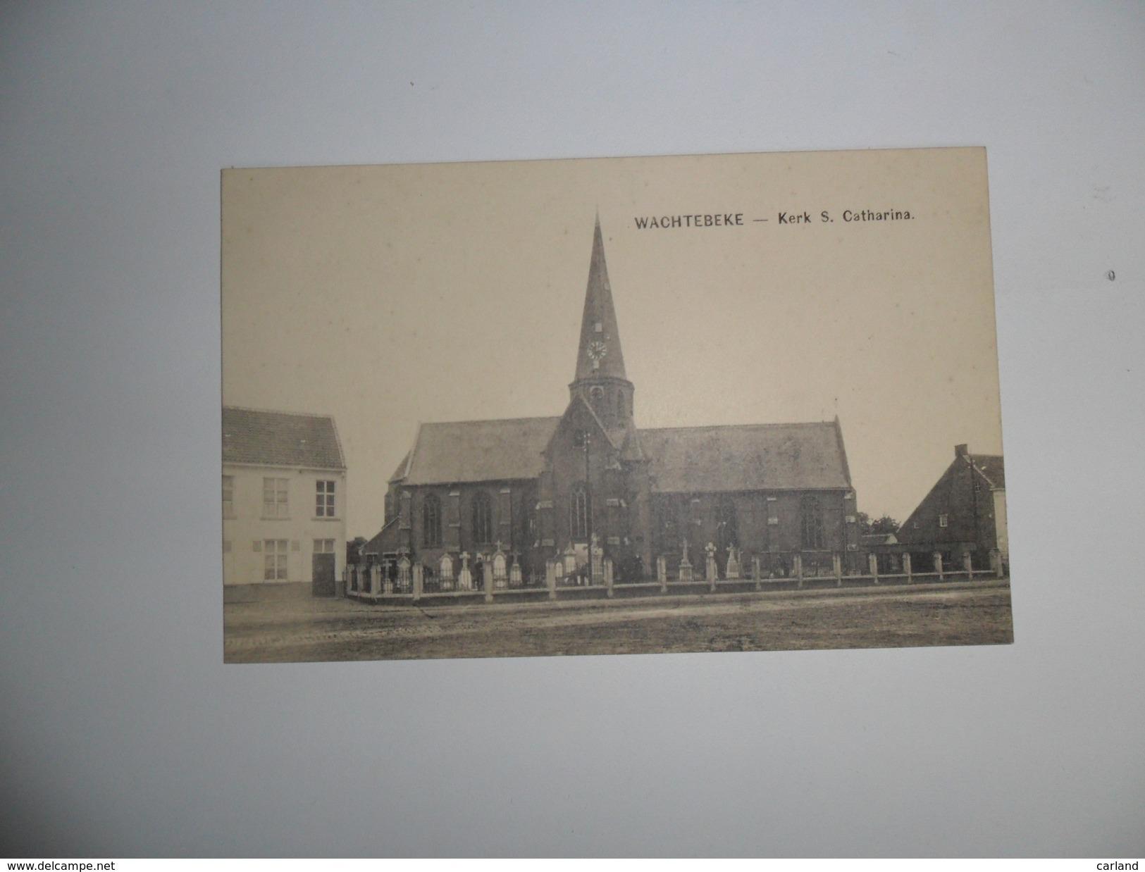 Wachtebeke  :  Kerk S. Catharina - Wachtebeke