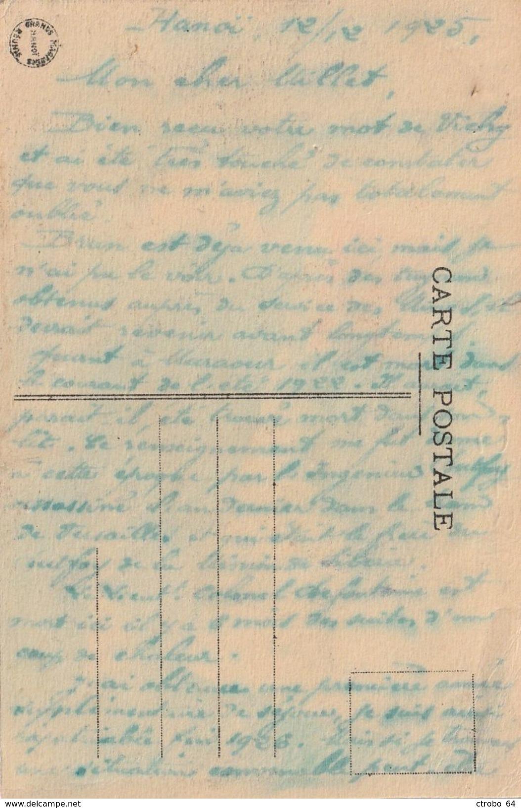 CPA TONKIN - INDOCHINE - Norias à Pédales Sur Environs D'HANOI - Cartes Postales
