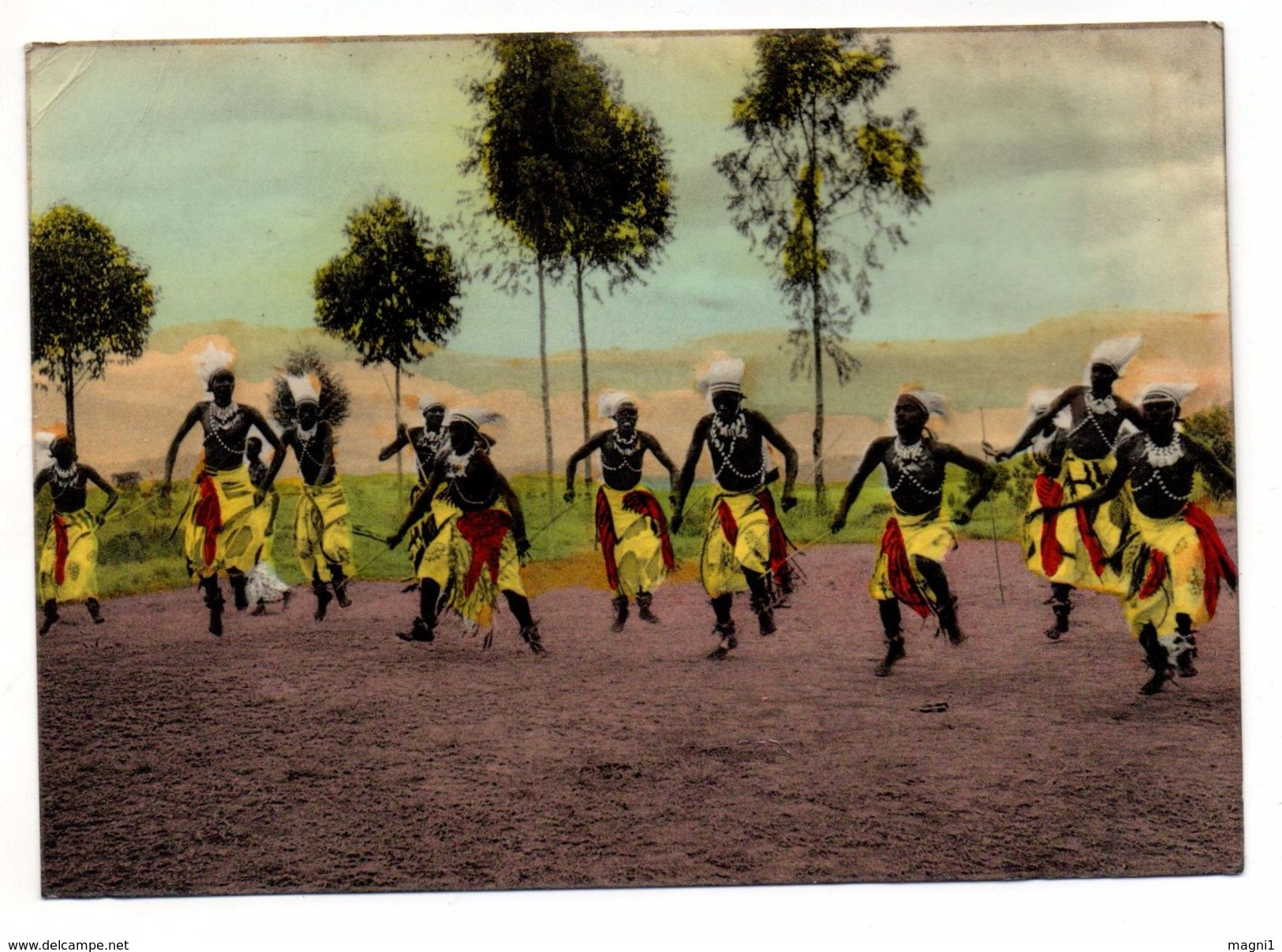 Ruanda Urundi - Cpsm -  Danseurs Watuzi - Ruanda-Urundi